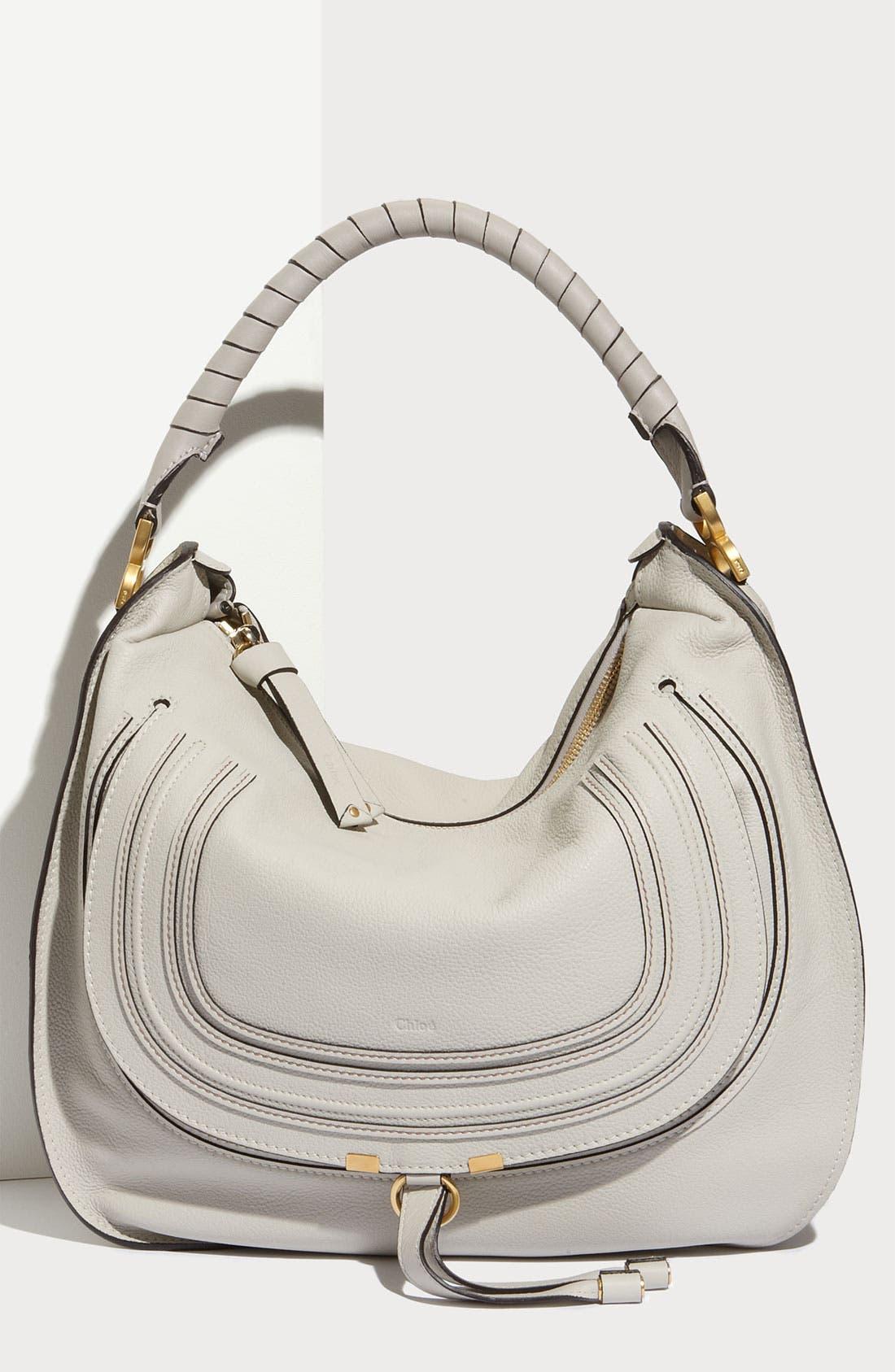 Main Image - Chloé 'Marcie - Large' Leather Hobo