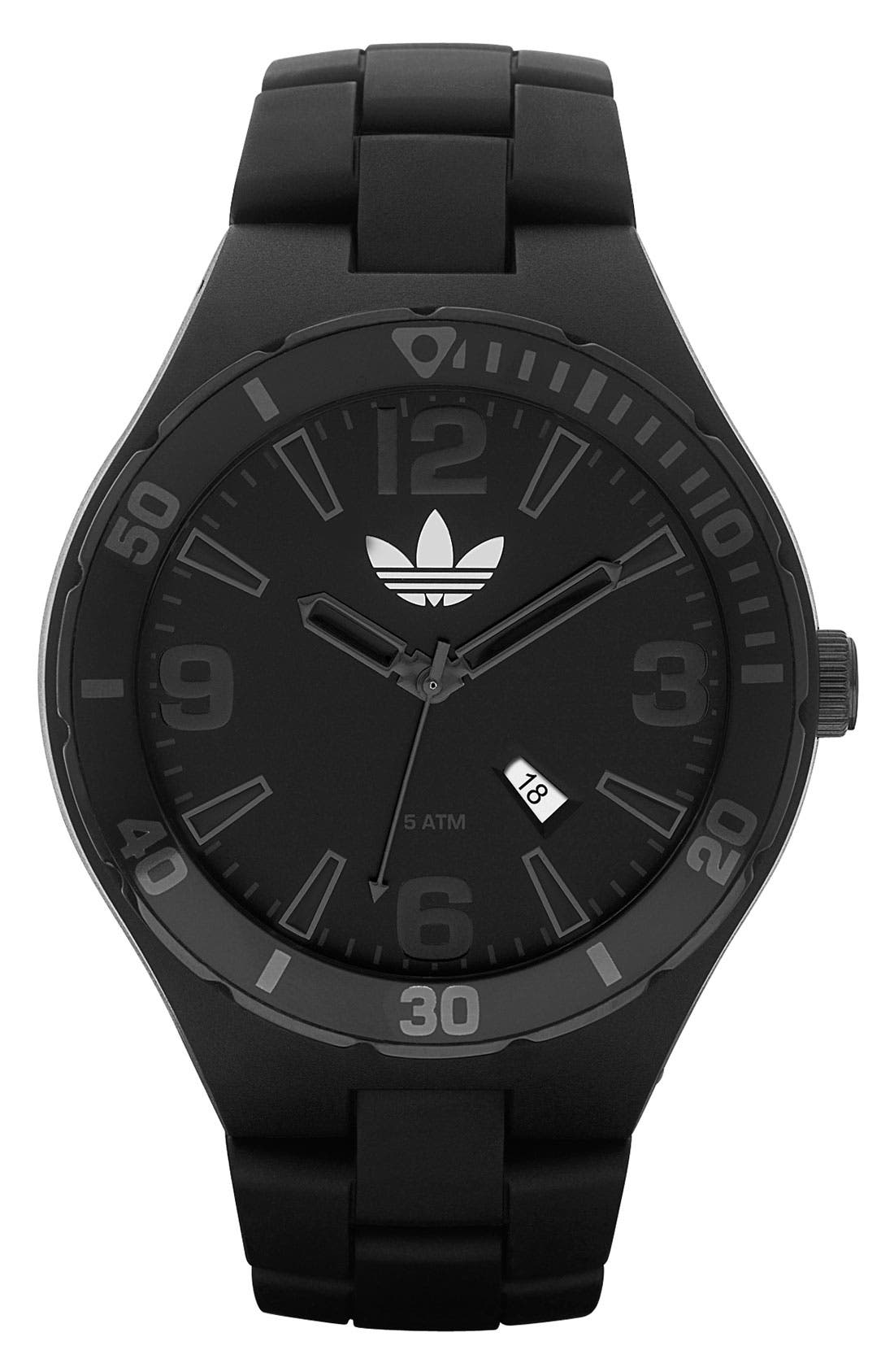 Alternate Image 1 Selected - adidas Originals 'Melbourne' Round Resin Watch