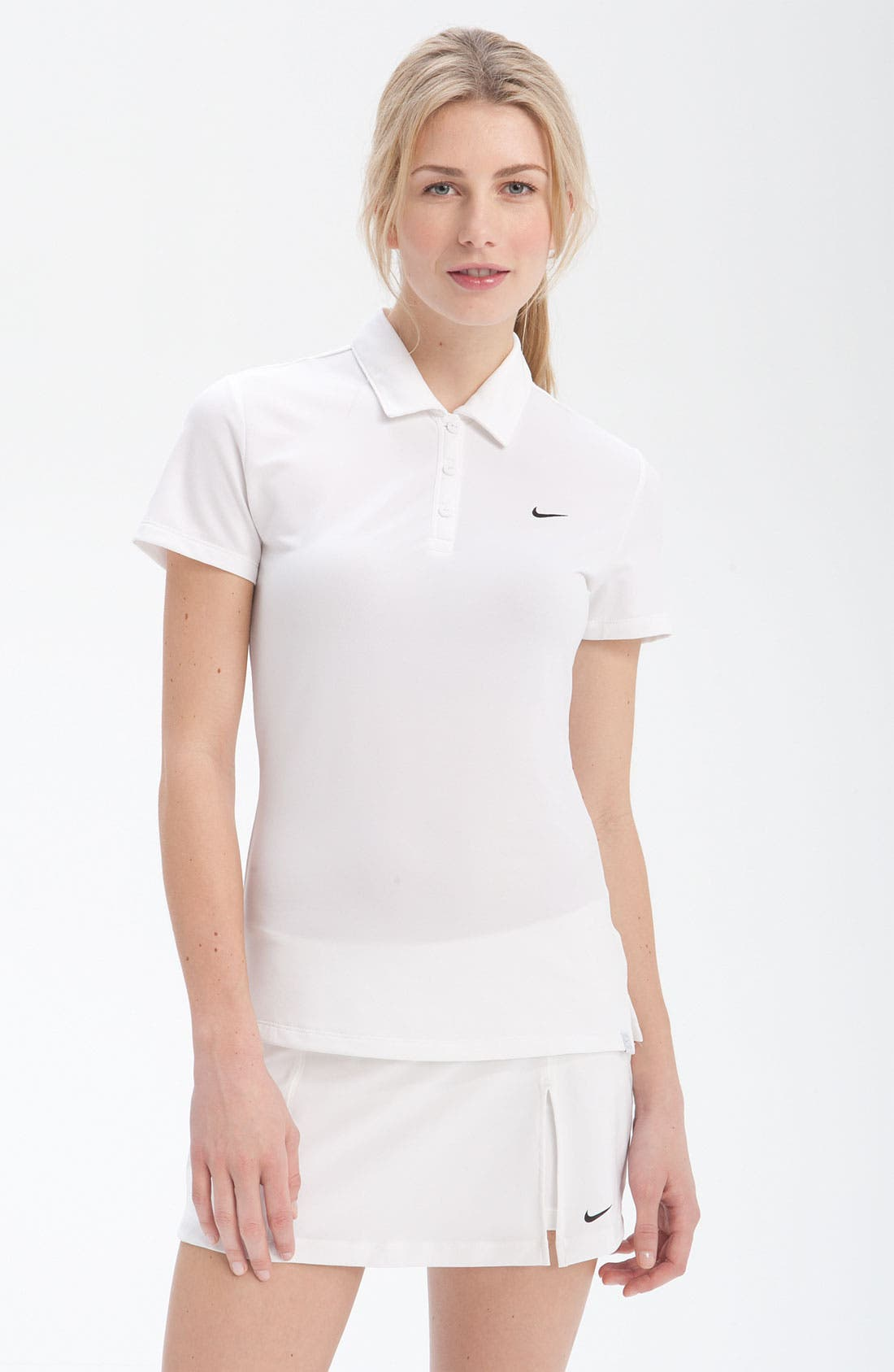 Alternate Image 1 Selected - Nike 'Power Sphere' Tennis Polo