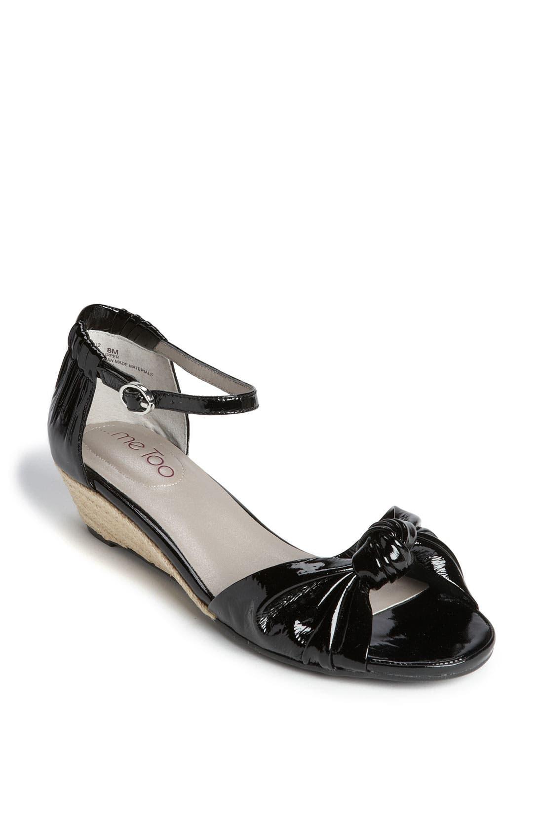 Alternate Image 1 Selected - Me Too 'Sadie' Wedge Sandal