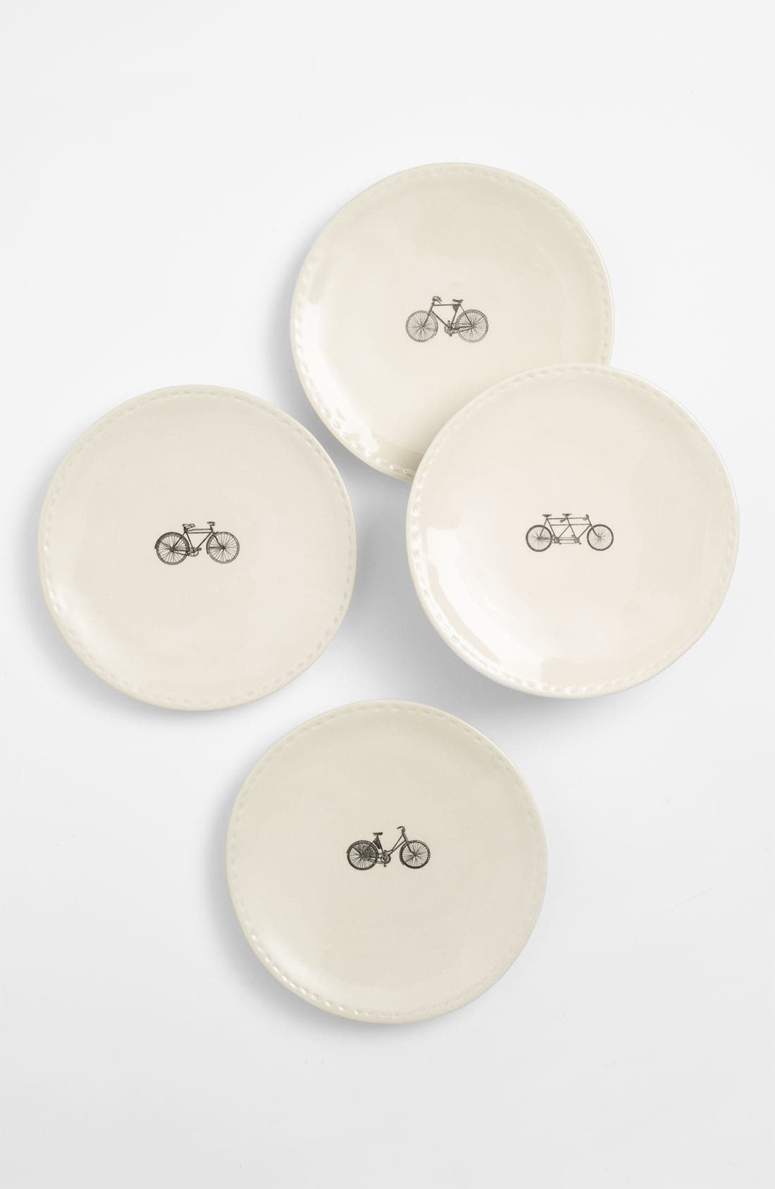 Alternate Image 1 Selected - Rae Dunn by Magenta Bike Plates (Set of 4)