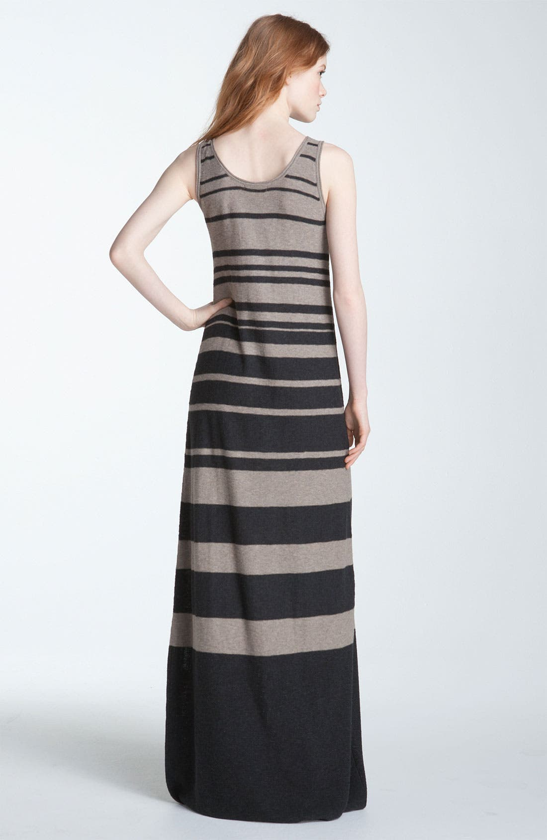 Alternate Image 2  - Vince Stripe Maxi Tank Dress
