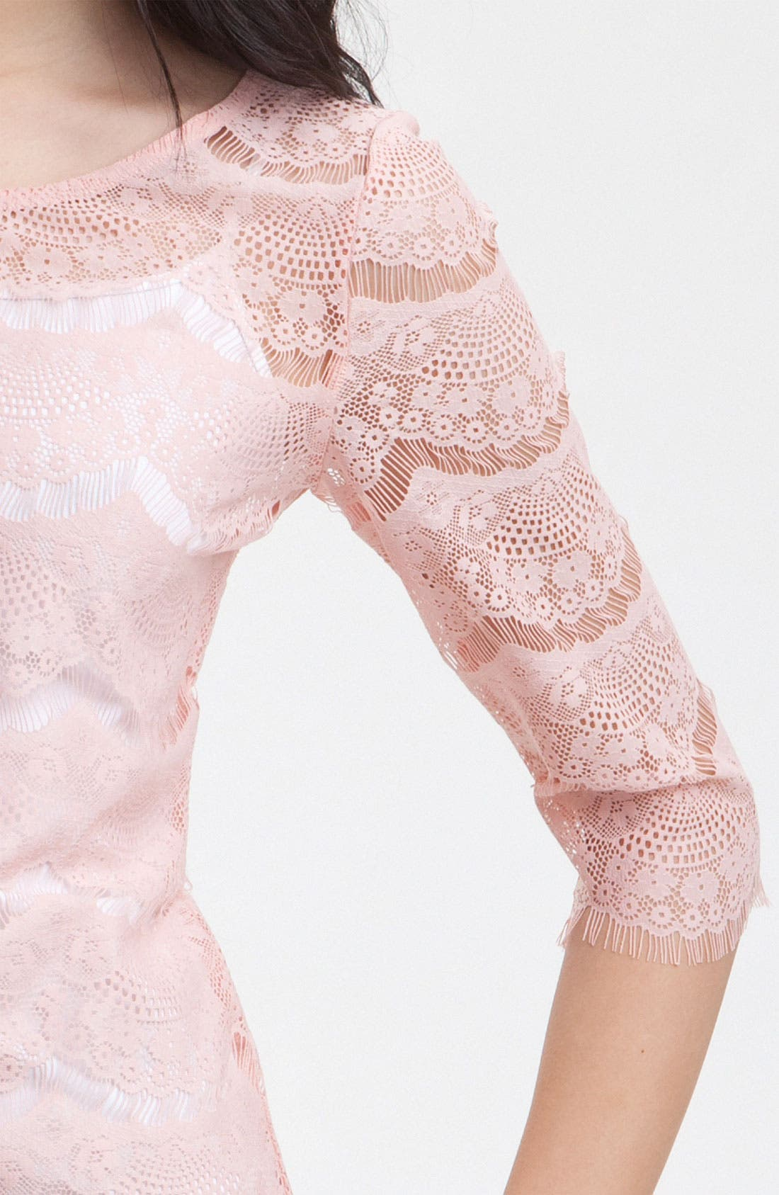 Alternate Image 3  - Bellatrix Lace Fan Top
