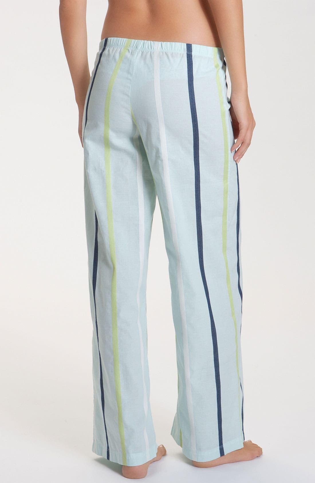 Alternate Image 2  - Hue 'Dobby Stripe' Lounge Pants