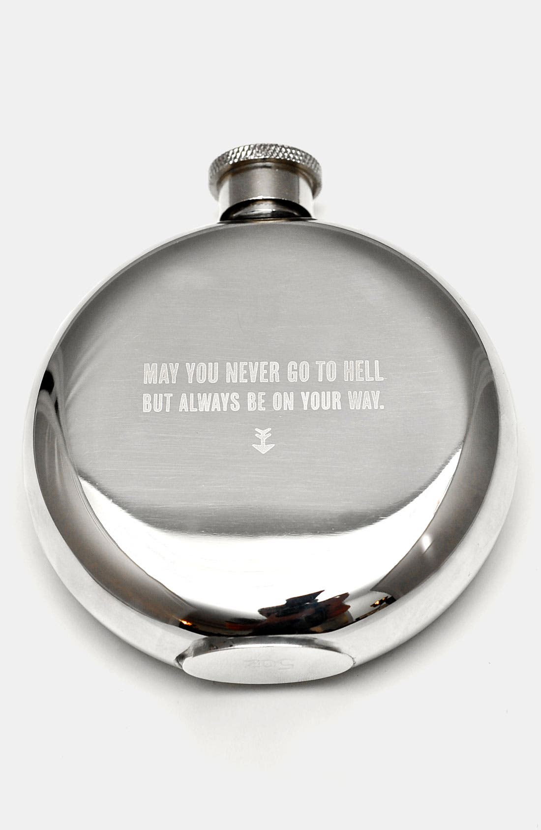 Alternate Image 1 Selected - 'May You Never' Flask