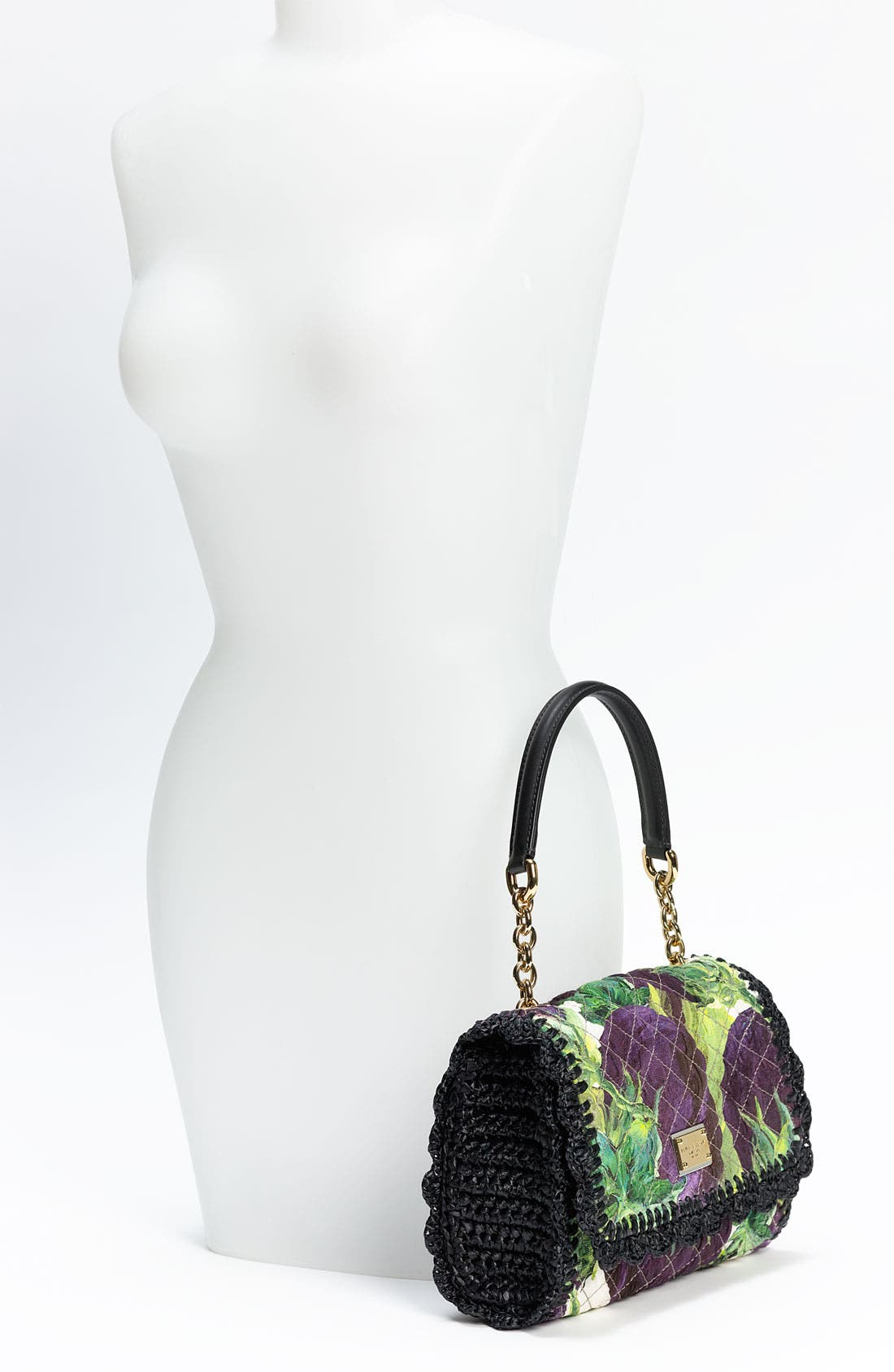 Alternate Image 2  - Dolce&Gabbana 'Miss Dolce Crochet' Shoulder Bag