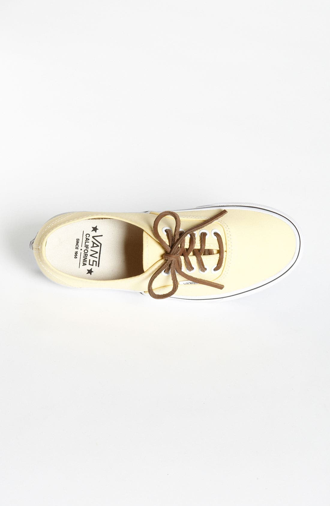 Alternate Image 3  - Vans 'Authentic' Twill Sneaker (Women)