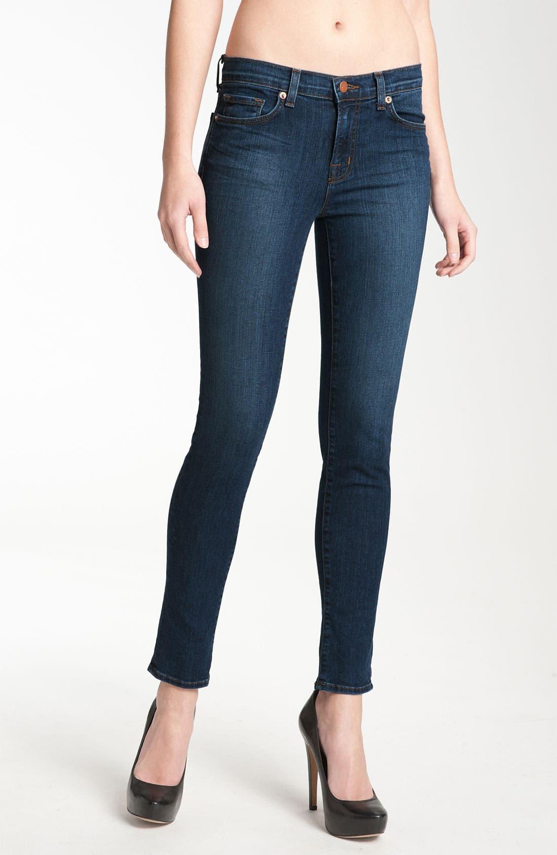 Alternate Image 1 Selected - J Brand '811' Skinny Stretch Jeans (Vivid)