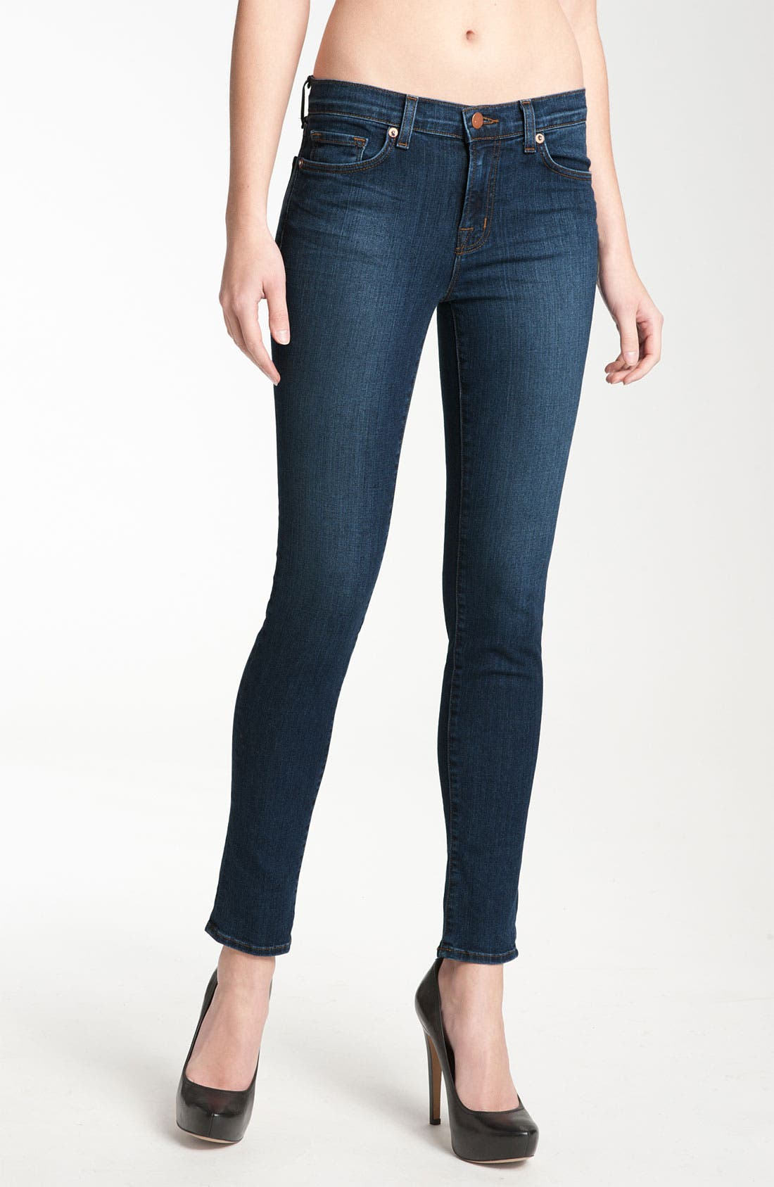 Main Image - J Brand '811' Skinny Stretch Jeans (Vivid)