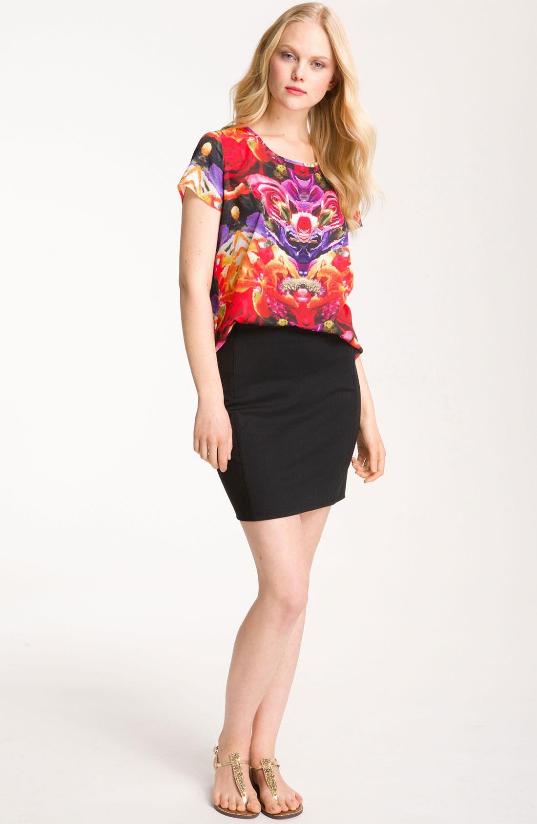 Alternate Image 4  - Trouvé Miniskirt