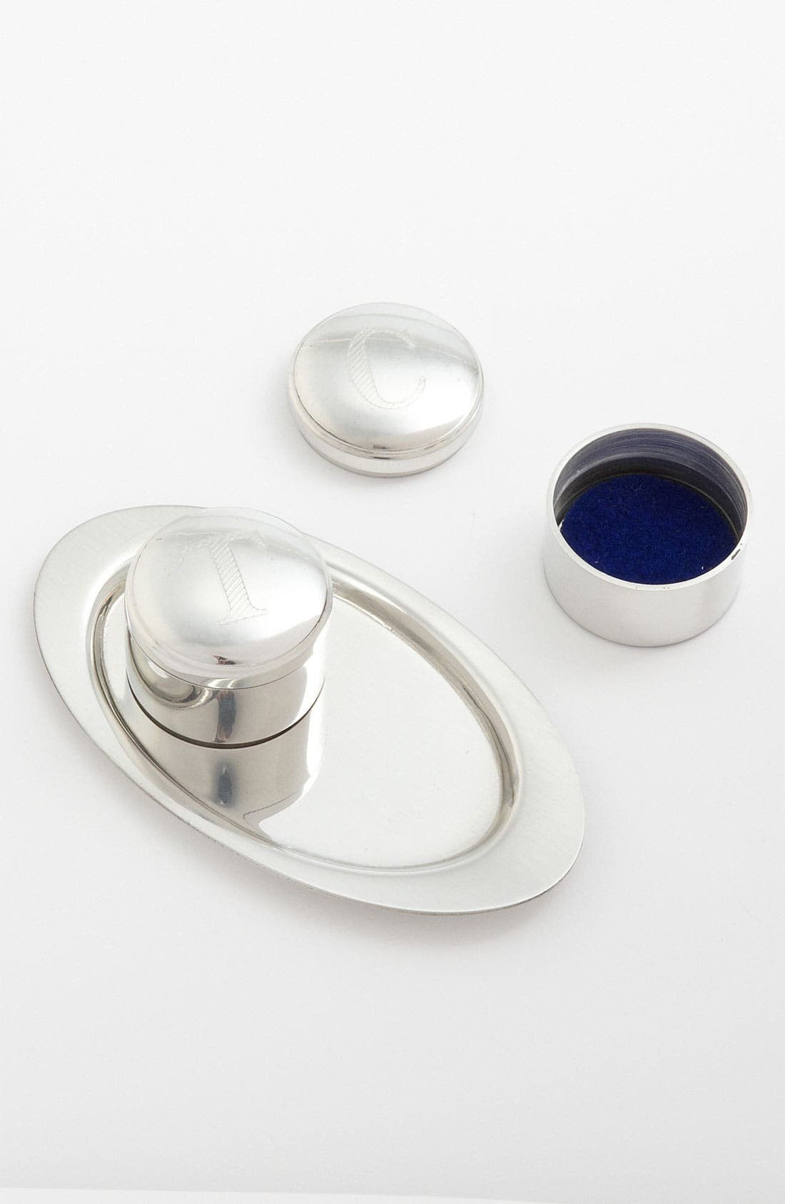 Alternate Image 1 Selected - Salisbury Pewter 'First Tooth & Curl' Mini Boxes & Tray