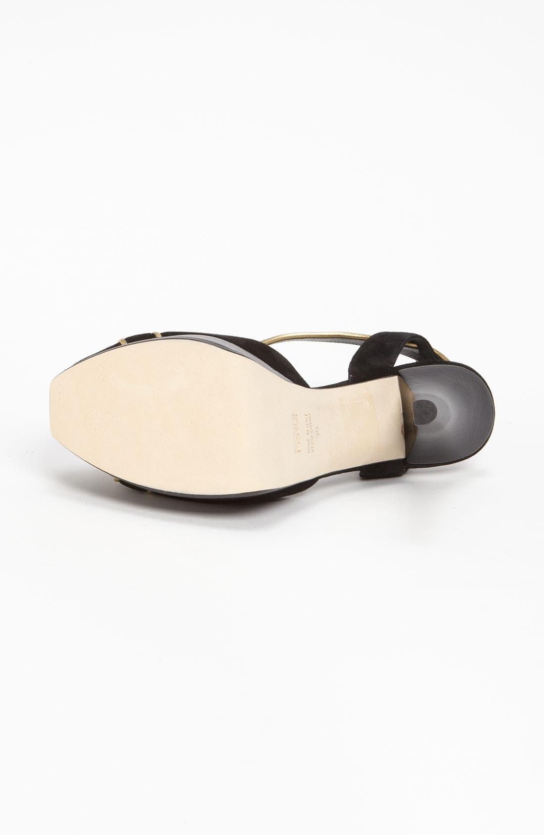 Alternate Image 4  - Fendi 'Fendista' Sandal