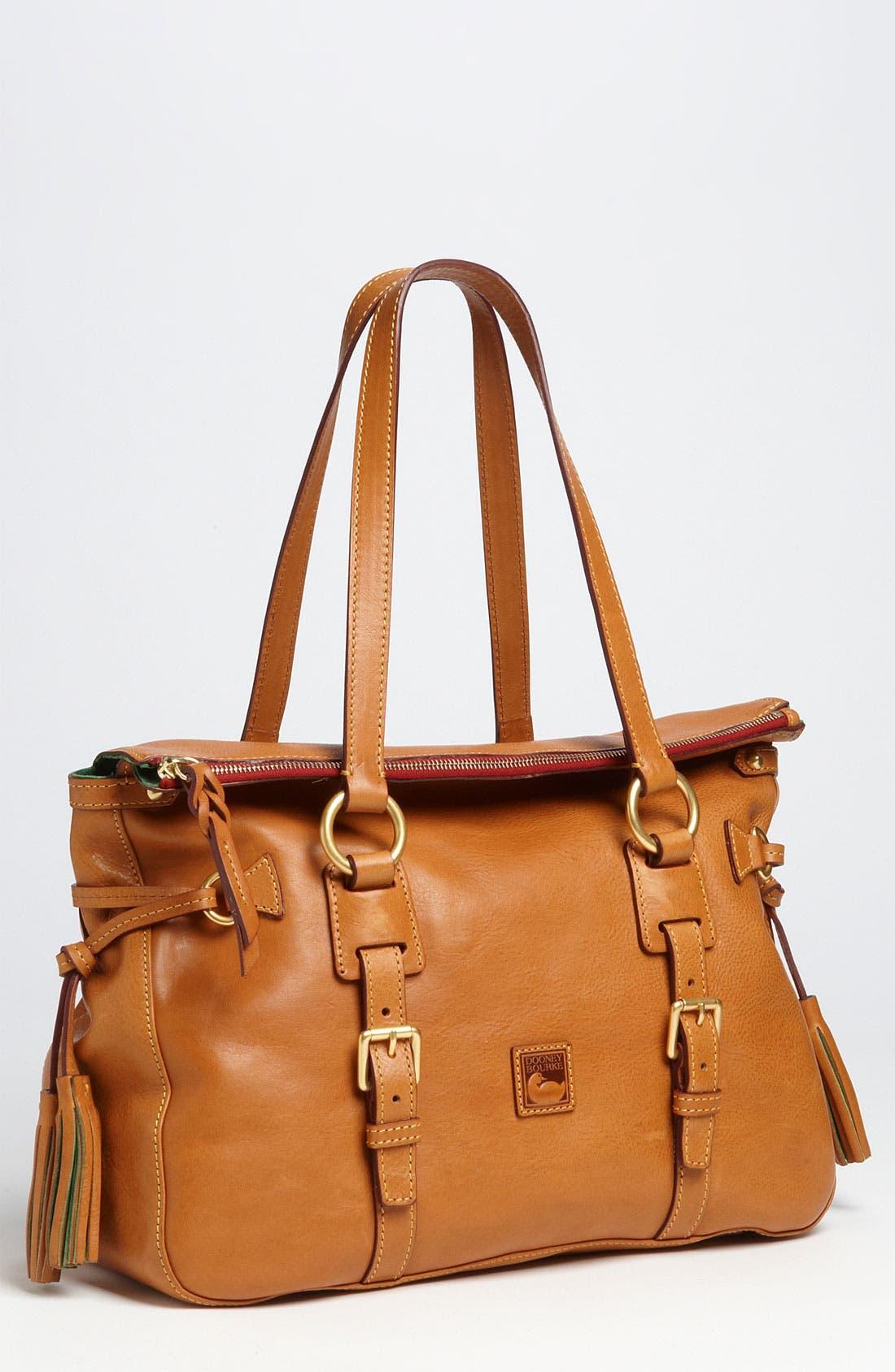 Alternate Image 1 Selected - Dooney & Bourke 'Florentine' Vachetta Leather Satchel