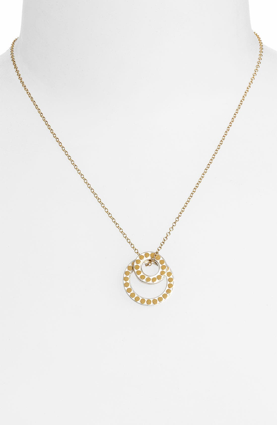 Alternate Image 2  - Anna Beck 'Floating O' Double Circle Necklace