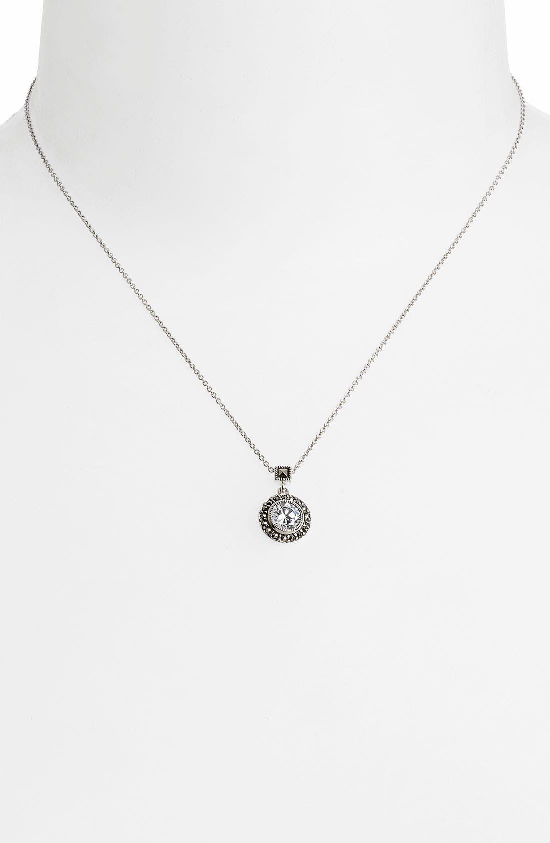 Alternate Image 2  - Judith Jack 'Small Moonshadow' Necklace