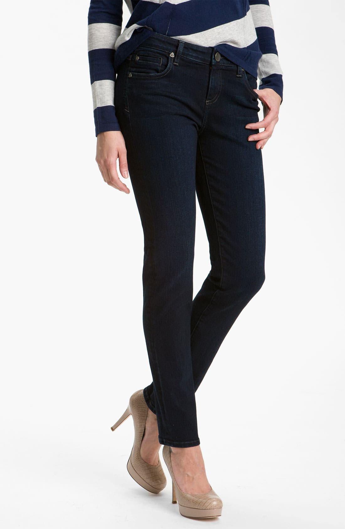 Main Image - KUT from the Kloth 'Diana' Skinny Jeans (Exquisite Wash)