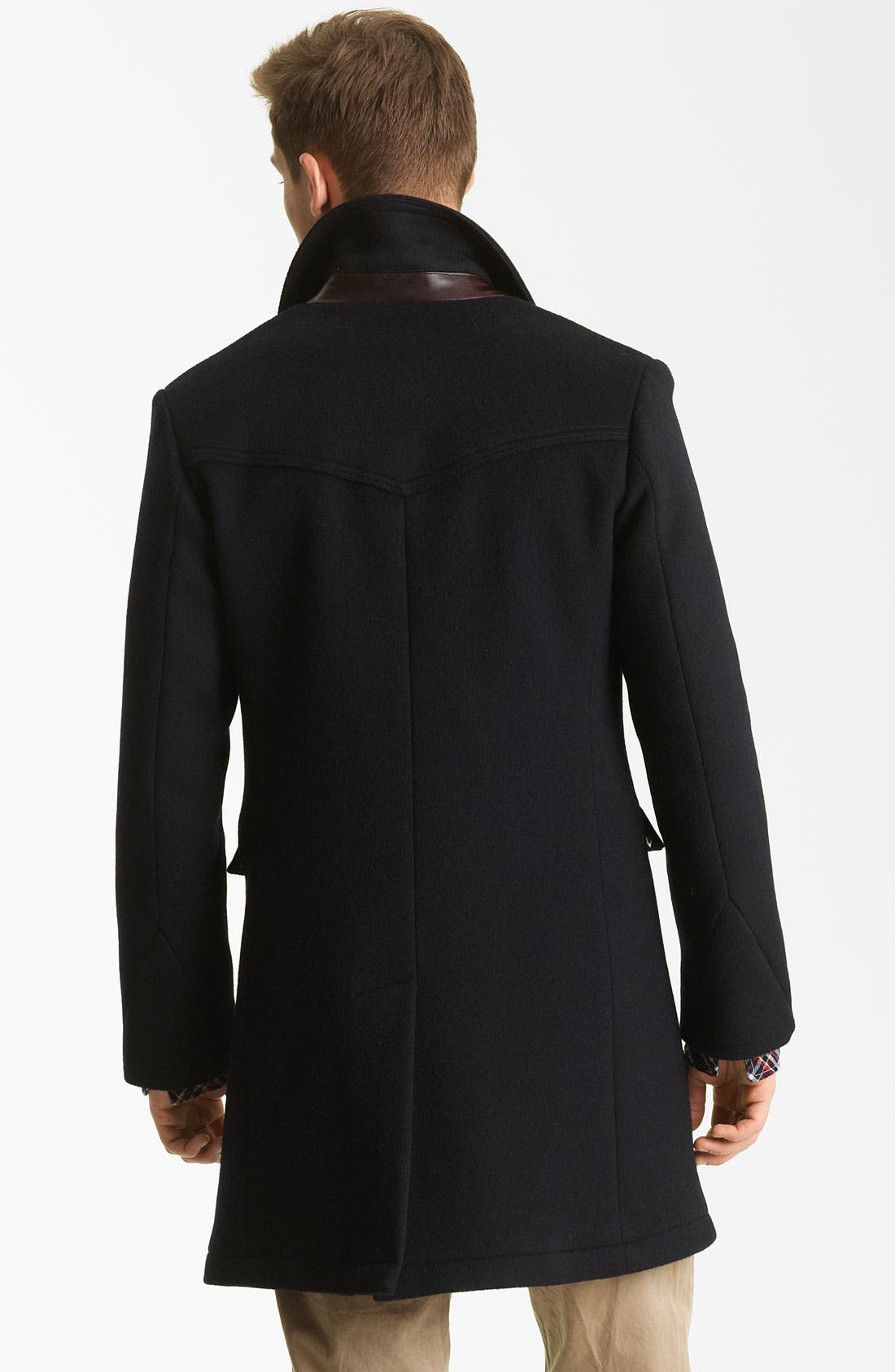 'Bowery' Coat,                             Alternate thumbnail 2, color,                             Navy