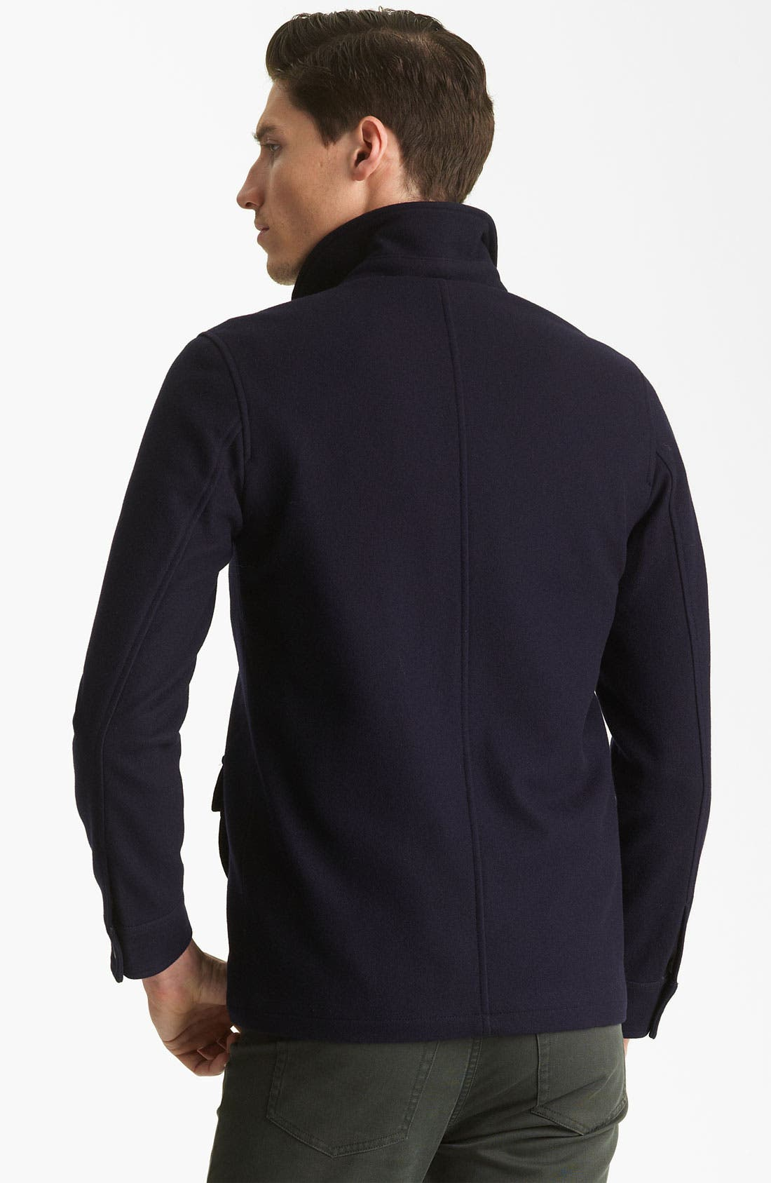 Alternate Image 2  - A.P.C. Round Neck Jacket