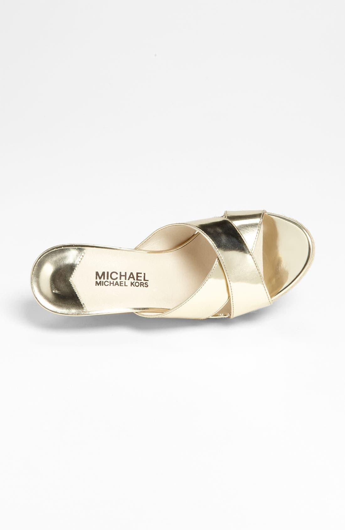 Alternate Image 3  - MICHAEL Michael Kors 'Kami' Mule