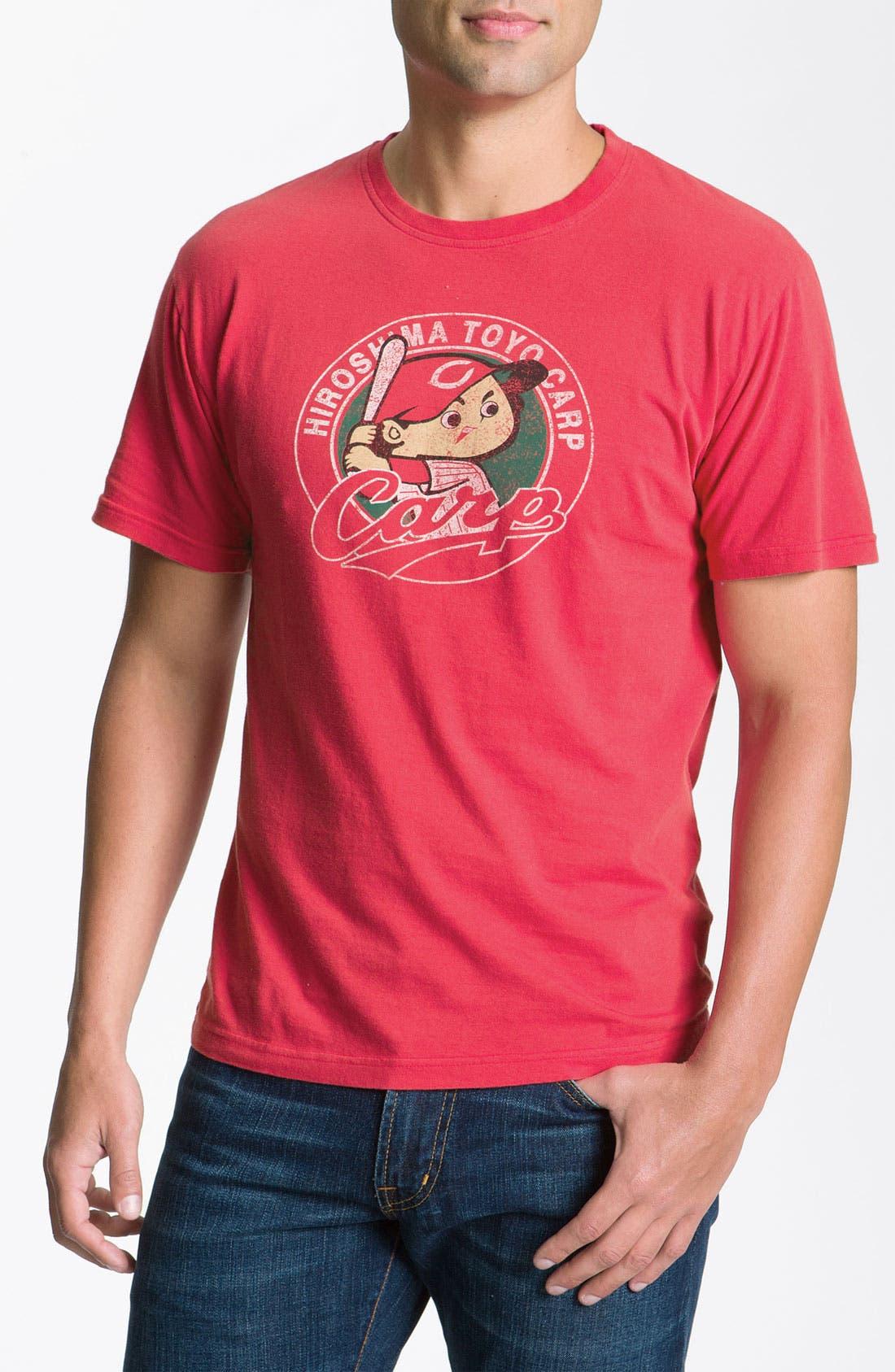 Main Image - Red Jacket 'Hiroshima Toyo Carp' Regular Fit Crewneck T-Shirt