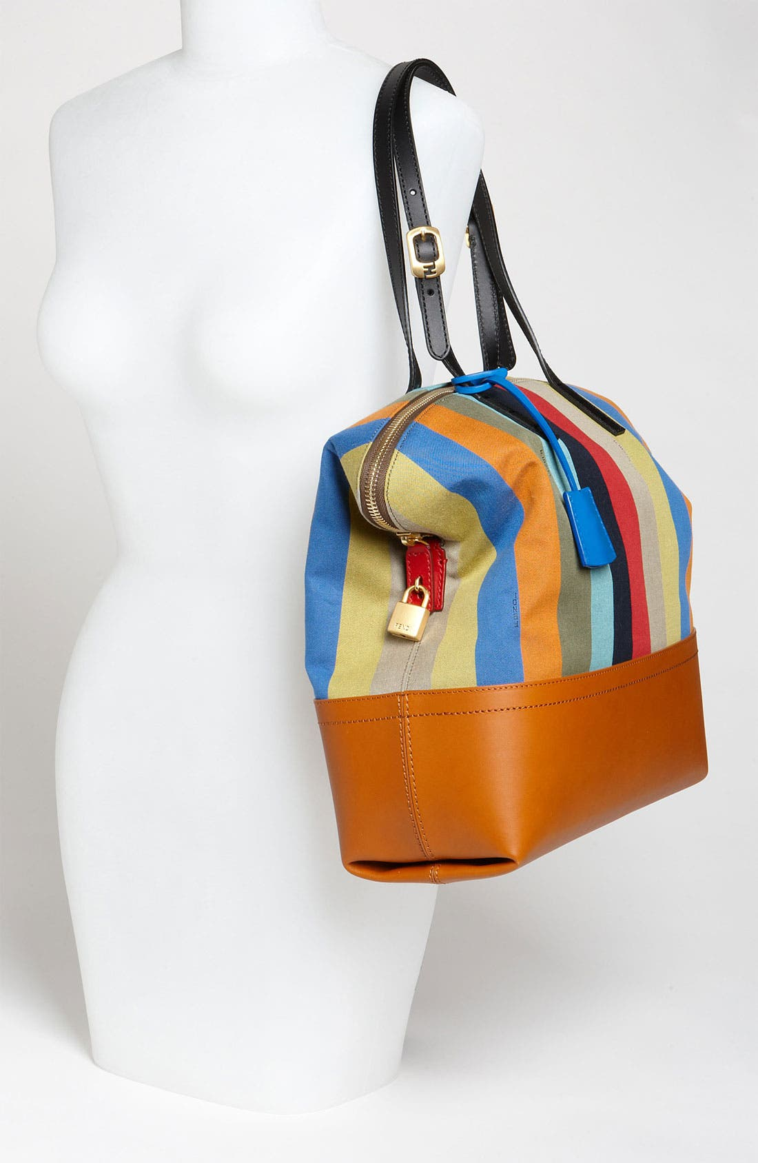 Alternate Image 2  - Fendi 'Pequin 2-Way' Shopper