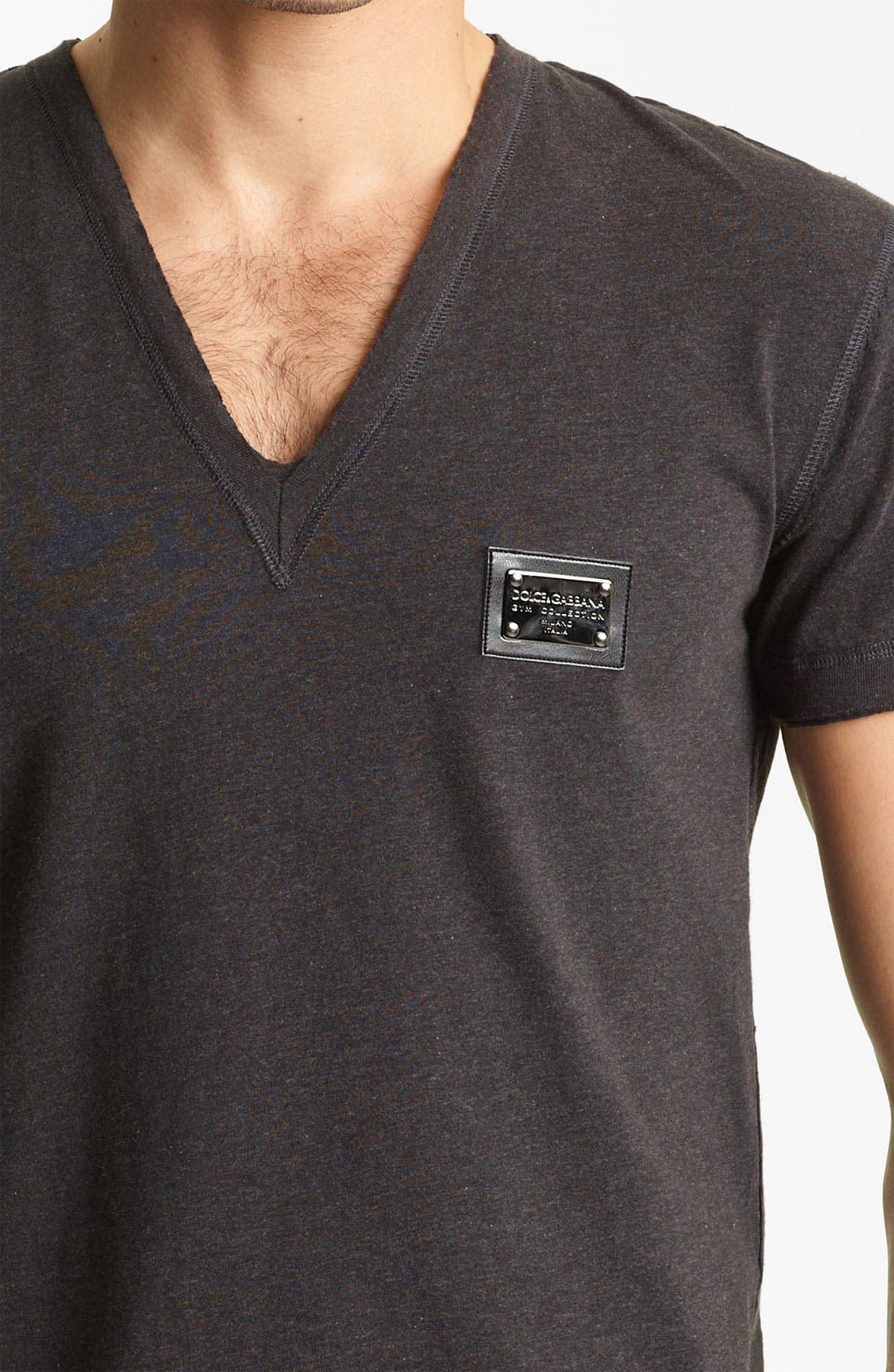 Alternate Image 3  - Dolce&Gabbana V-Neck T-Shirt