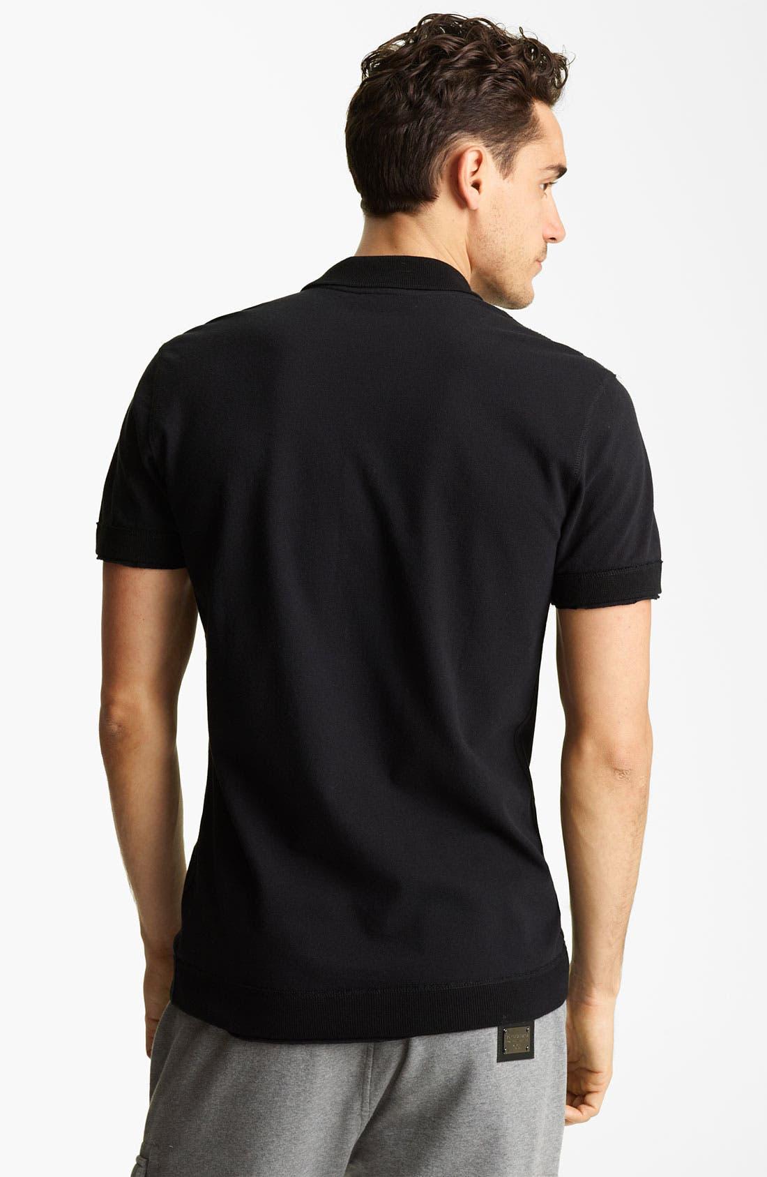 Alternate Image 2  - Dolce&Gabbana Short Sleeve Polo