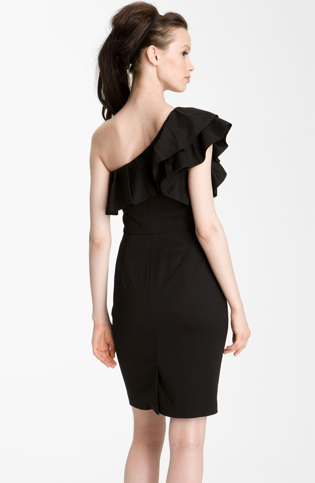 Alternate Image 2  - Rachel Zoe 'Isabelle II' One Shoulder Ruffle Dress