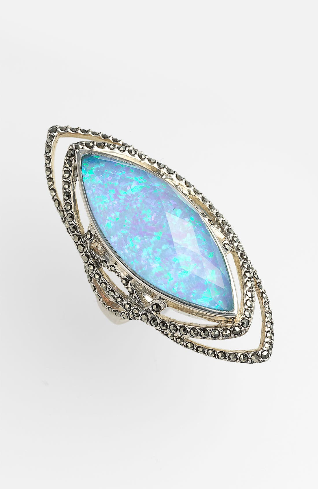 Alternate Image 1 Selected - Judith Jack 'Lagoon' Gilson Opal Ring