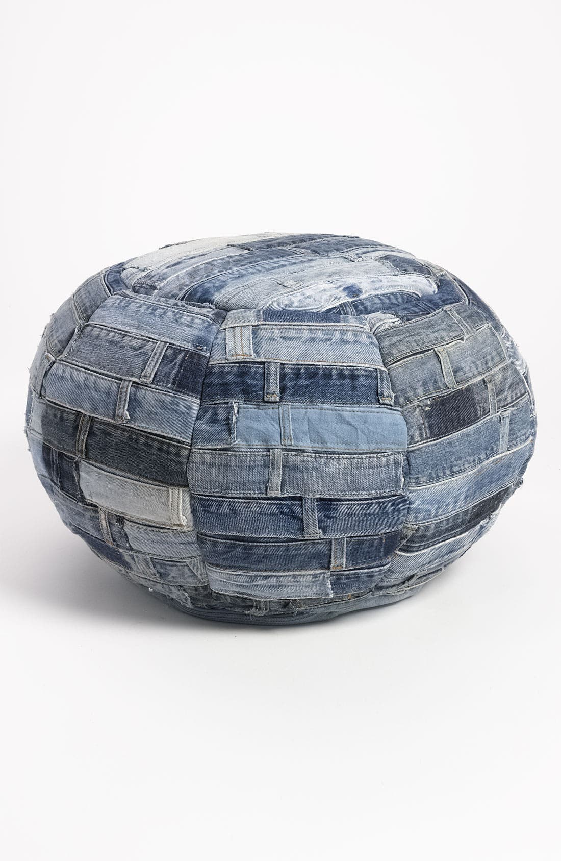 Alternate Image 1 Selected - Mina Victory Denim Ottoman