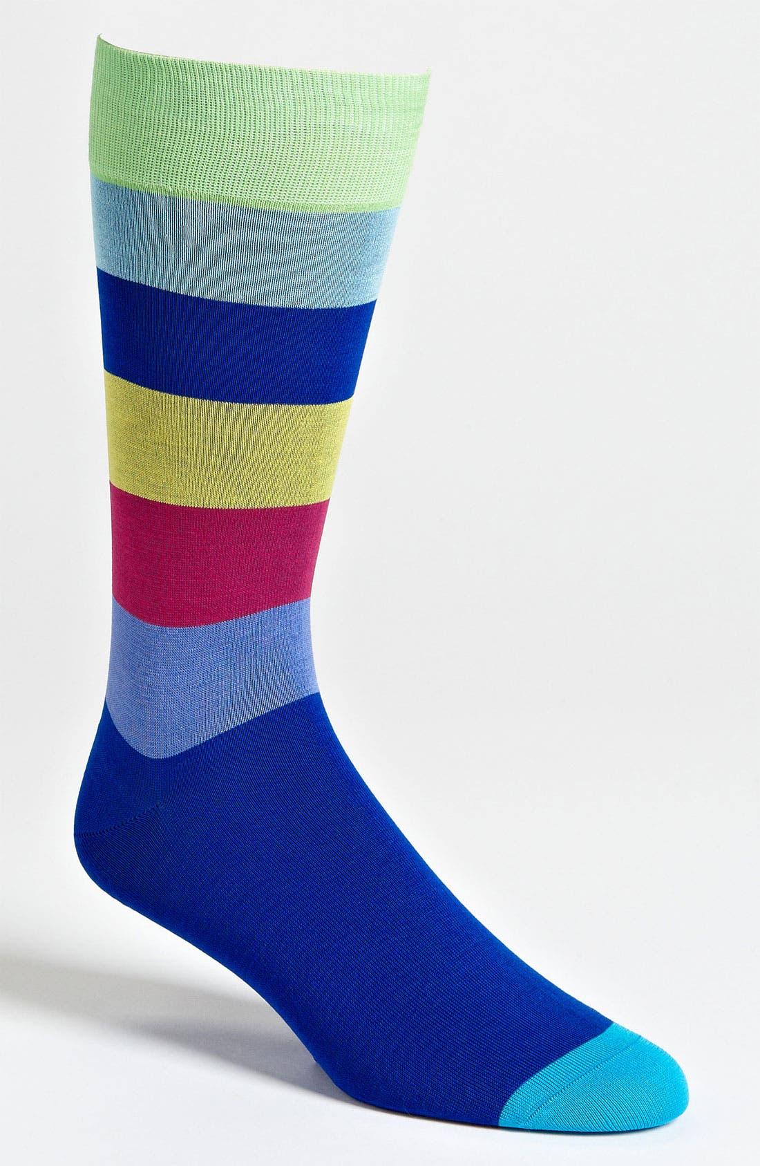 Main Image - Pantherella Stripe Socks