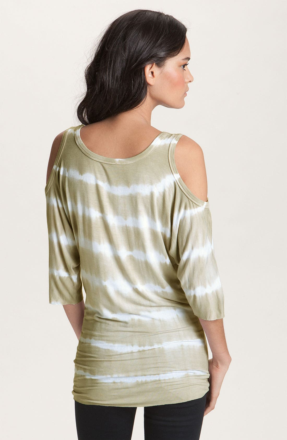 Alternate Image 2  - Bailey 44 'Wildebeest' Cutout Shoulder Tie Dye Dolman Top