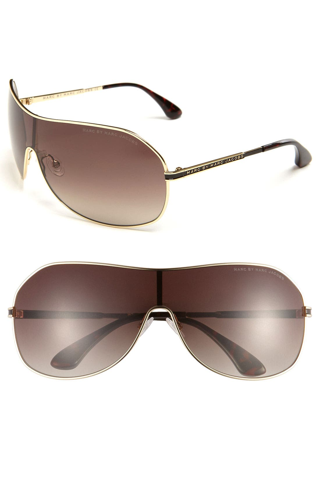 Main Image - MARC BY MARC JACOBS 72mm Shield Sunglasses