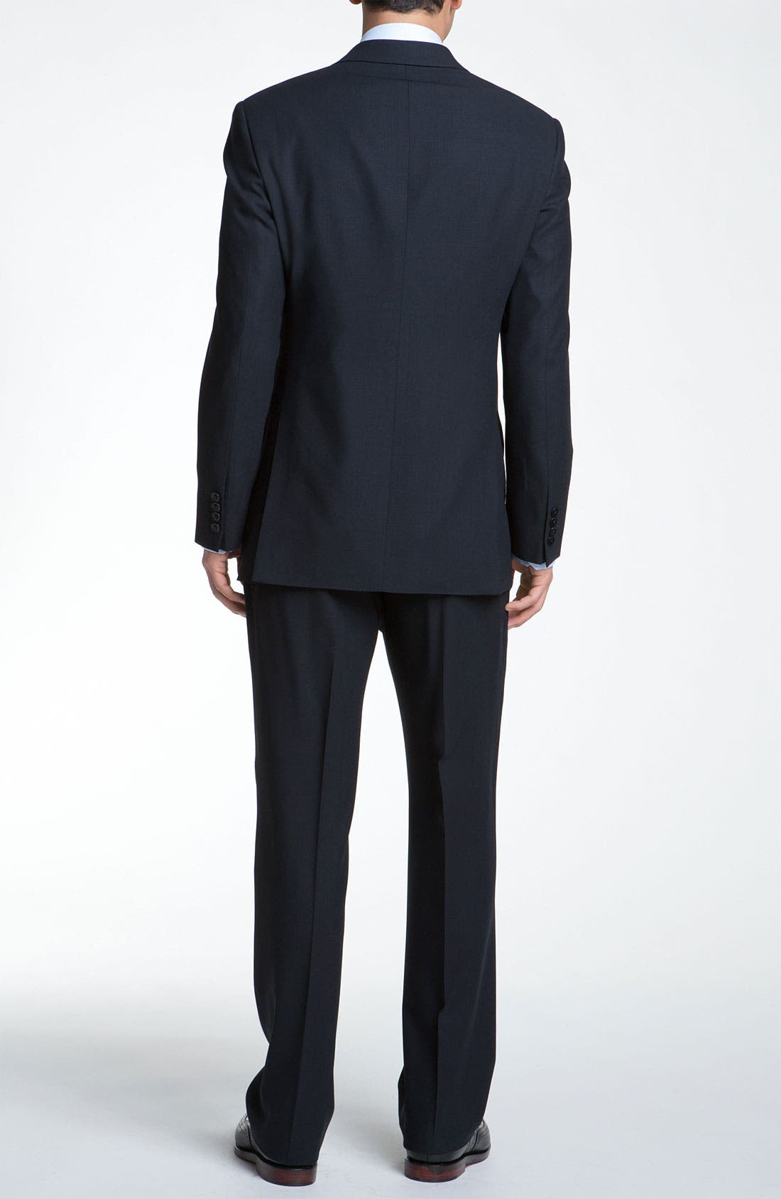 Alternate Image 3  - Armani Collezioni Trim Fit Wool Suit