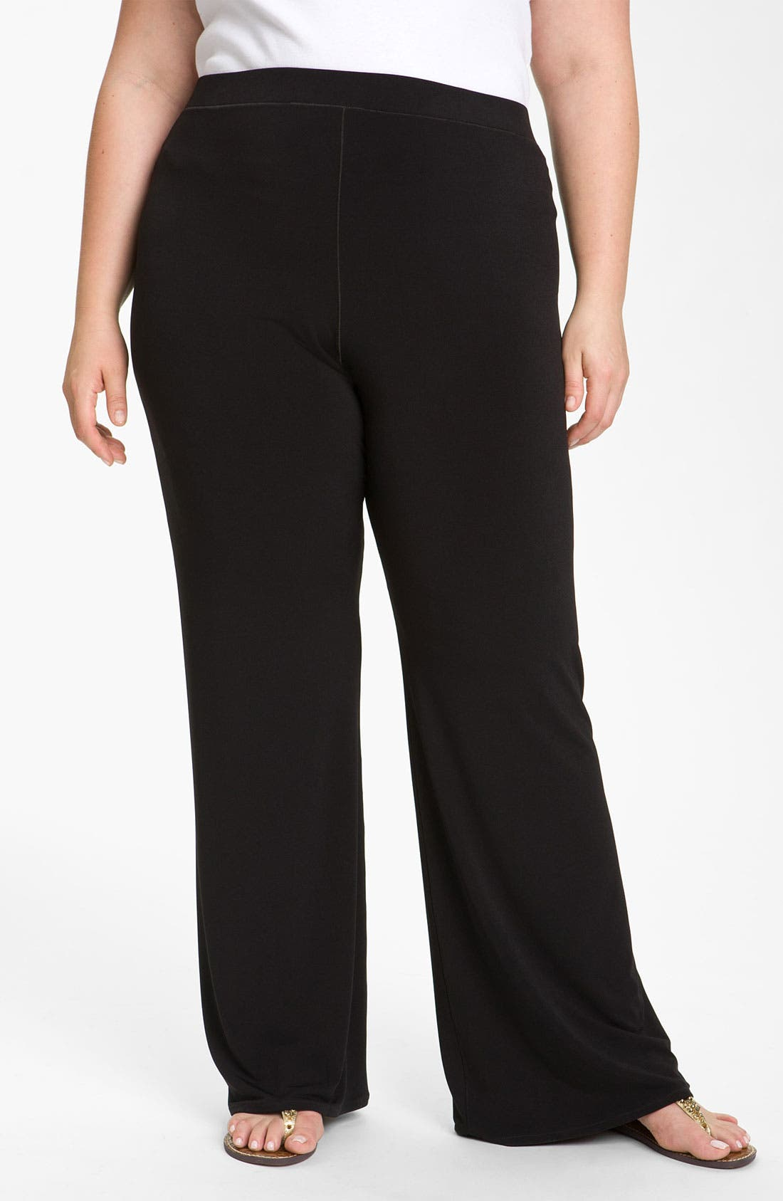 Alternate Image 1 Selected - Eva Varro 'Flaire' Pants (Plus)