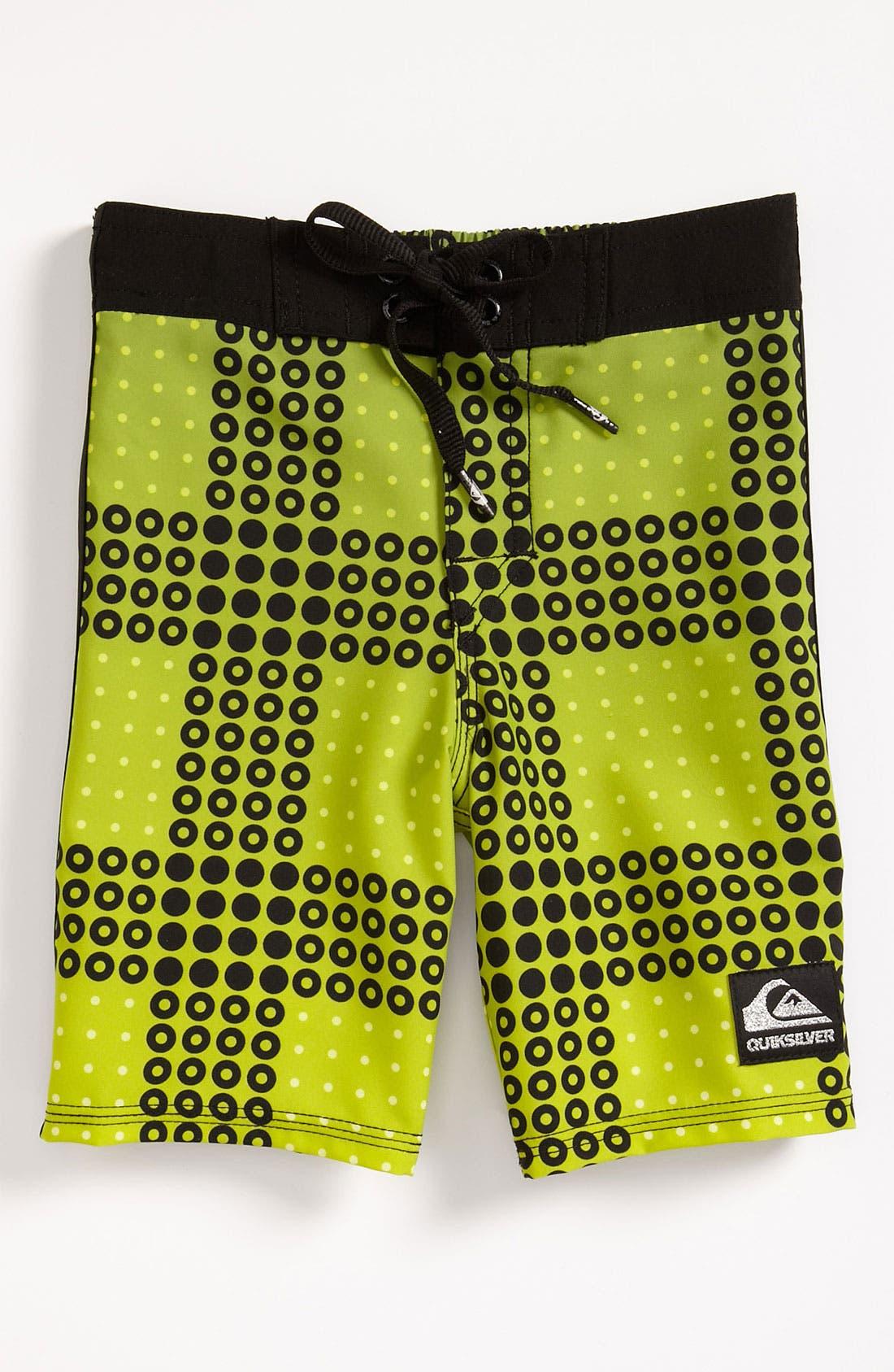 Main Image - Quiksilver 'Inverse' Board Shorts (Toddler)