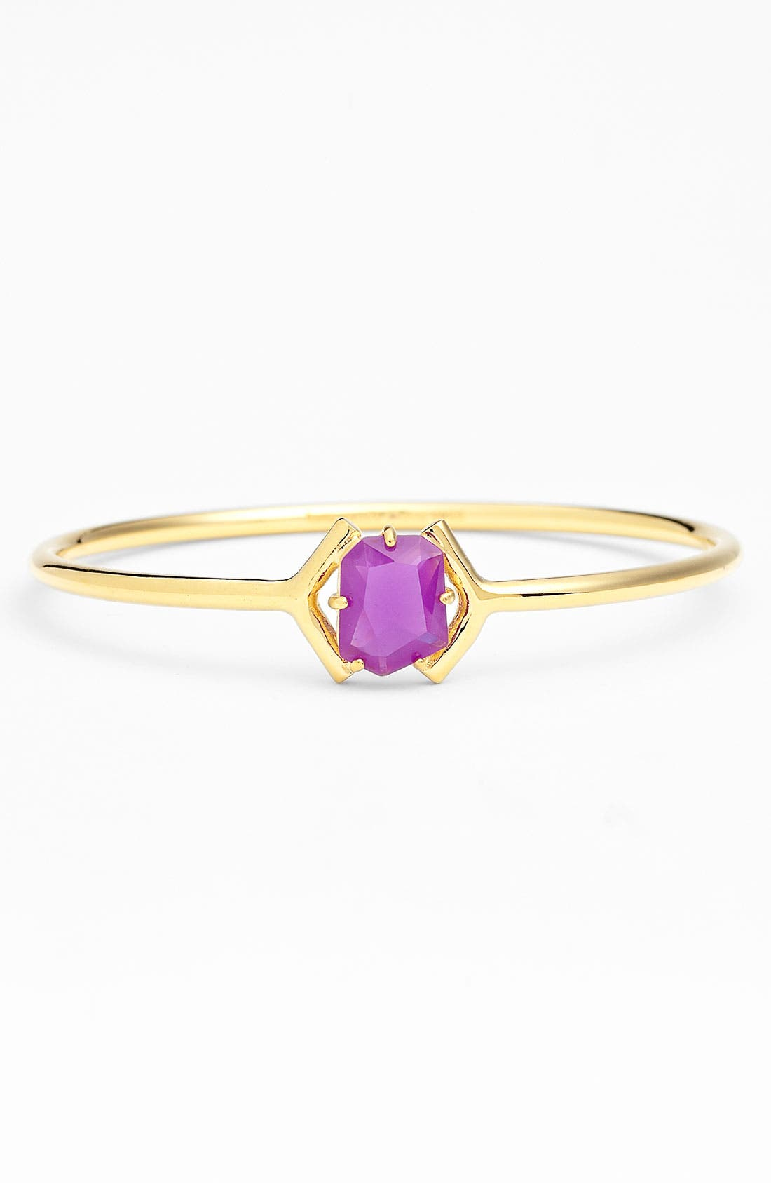 Main Image - kate spade new york colored stone bangle (Nordstrom Exclusive)