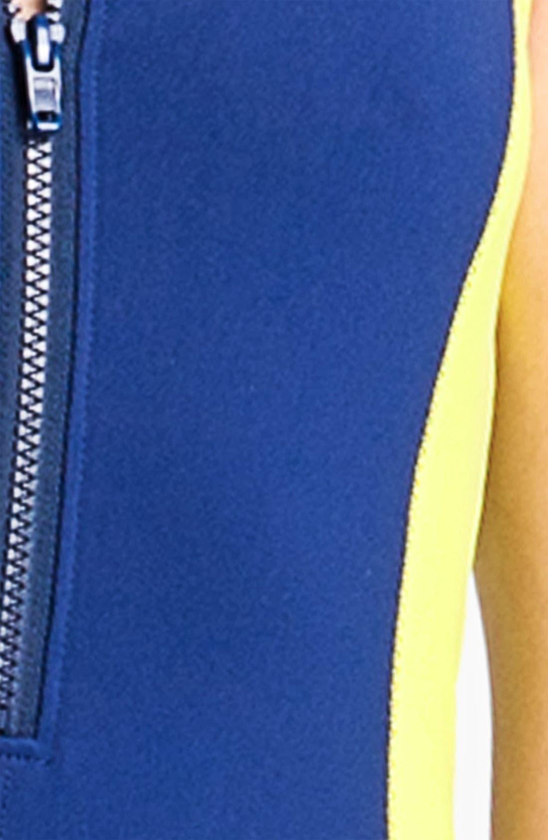 Alternate Image 3  - Trouvé Colorblock Scuba Dress
