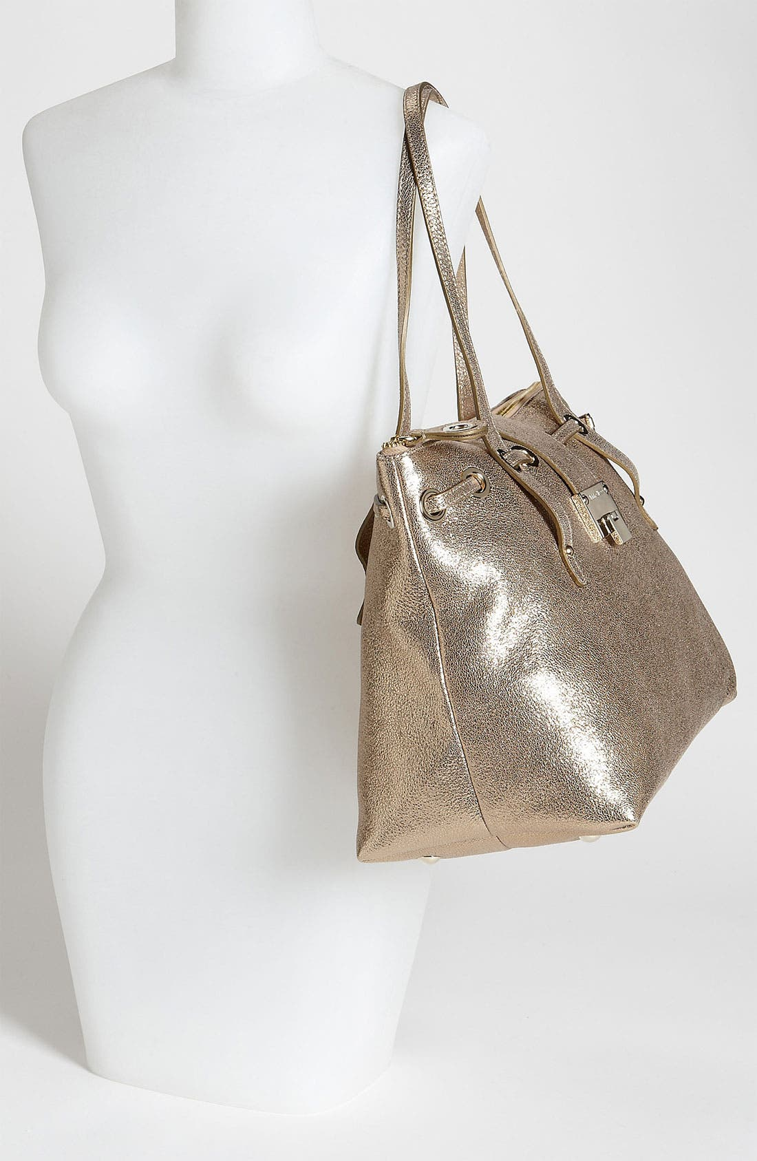 Alternate Image 2  - Jimmy Choo 'Rhea' Glitter Leather Tote