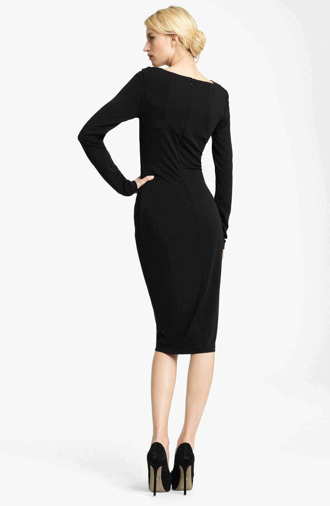 Alternate Image 2  - Michael Kors Asymmetrical Twist Jersey Dress