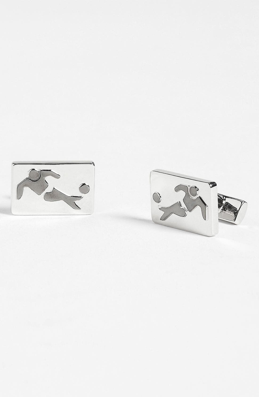Alternate Image 1 Selected - Thomas Pink 'Sporting Footballer' Cuff Links