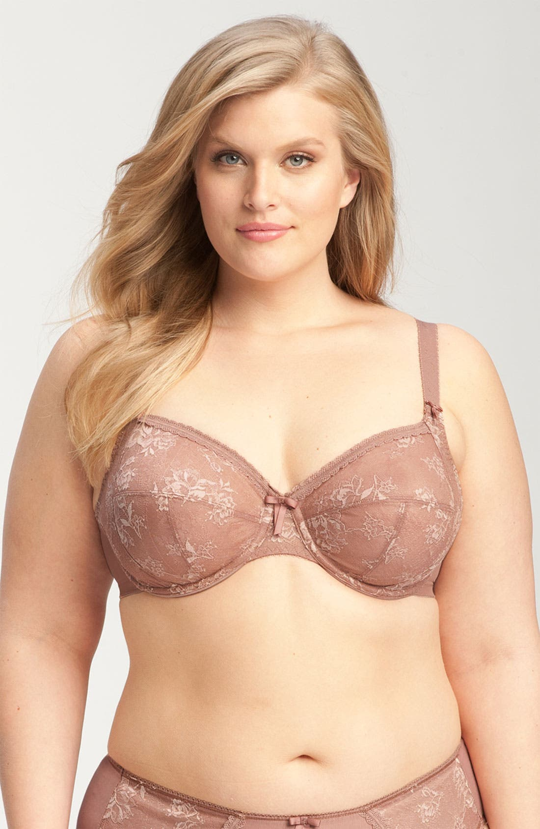 Alternate Image 1 Selected - Elomi 'Victoria' Underwire Bra (Plus Size)
