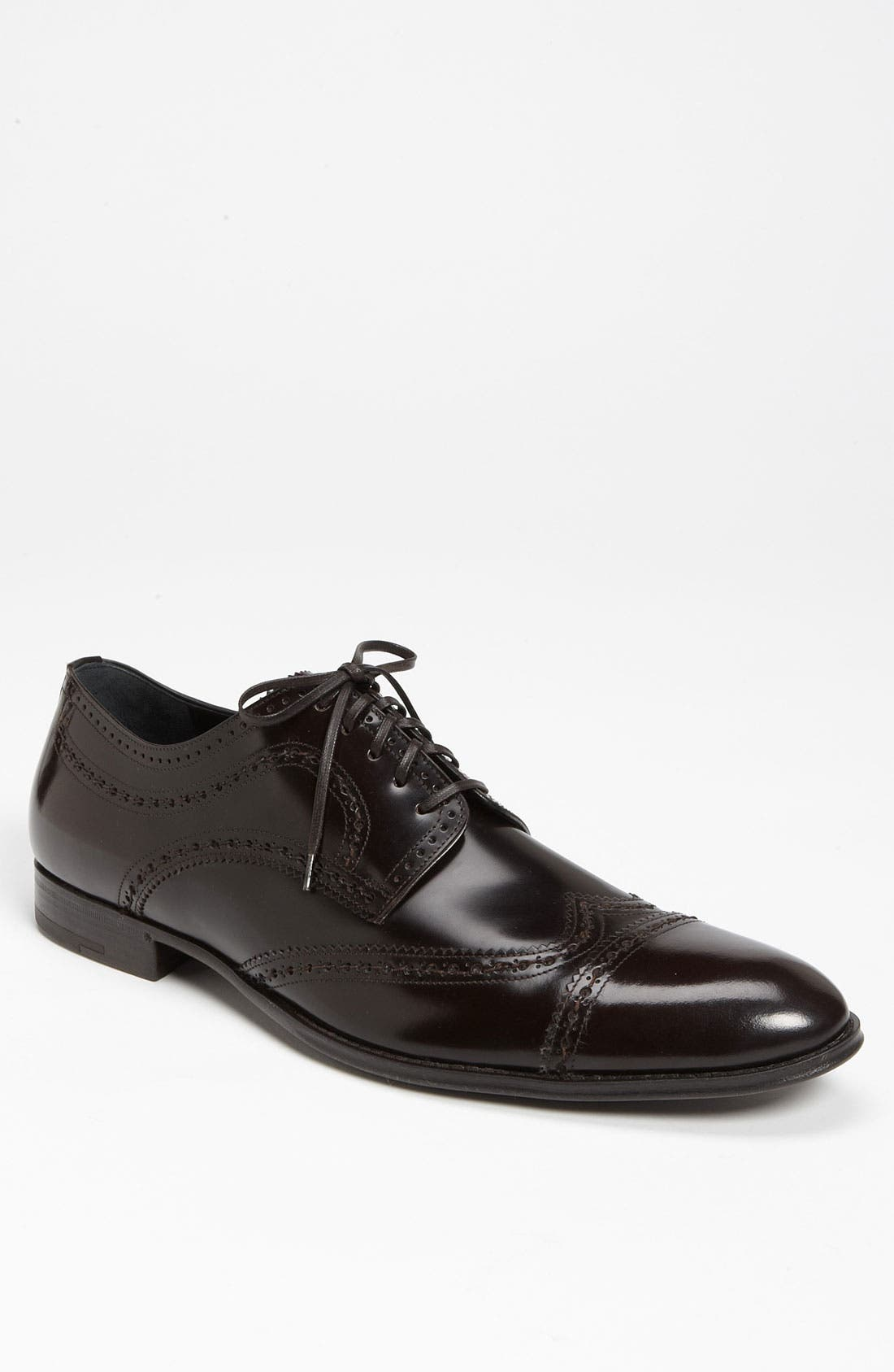 Alternate Image 1 Selected - Dolce&Gabbana Cap Toe Wingtip