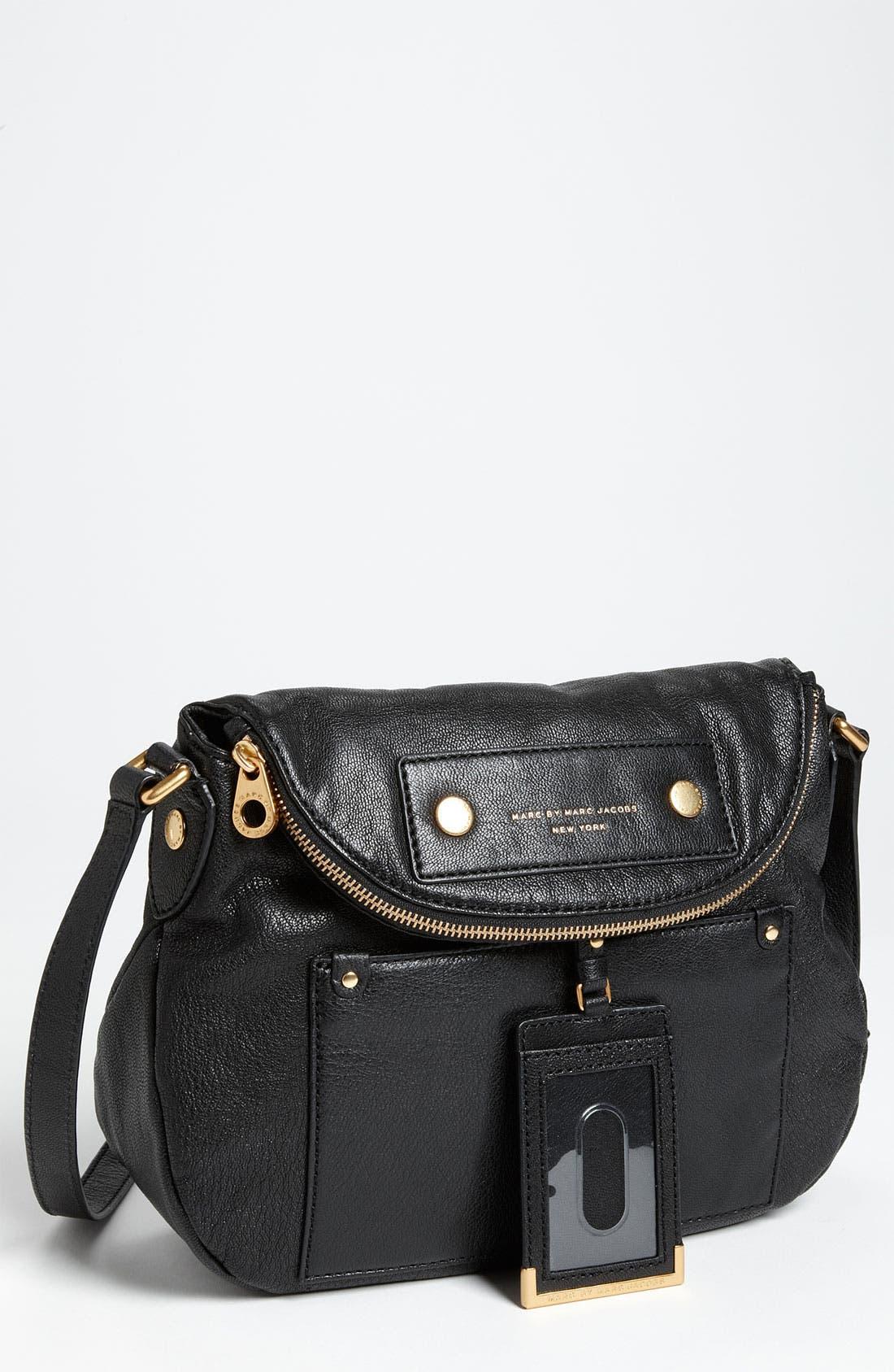 Main Image - MARC BY MARC JACOBS 'Preppy Natasha' Leather Crossbody Bag