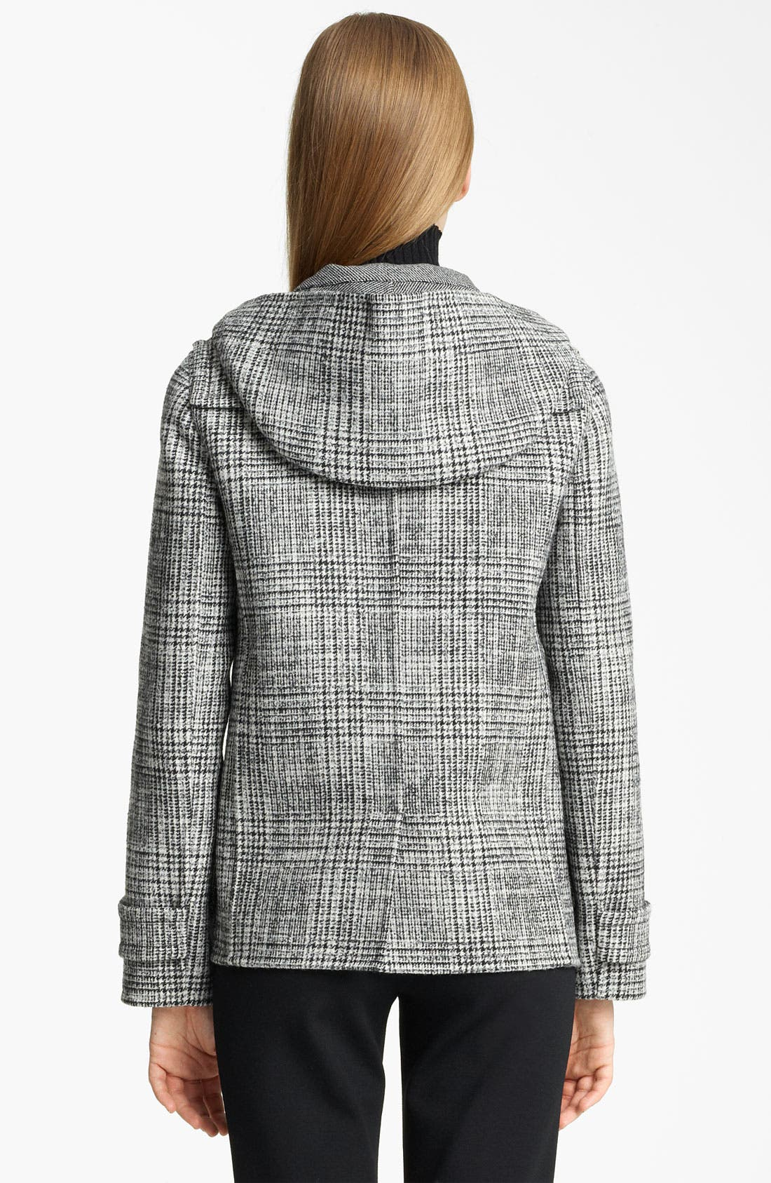 Alternate Image 2  - Jil Sander Hooded Wool Blend Coat