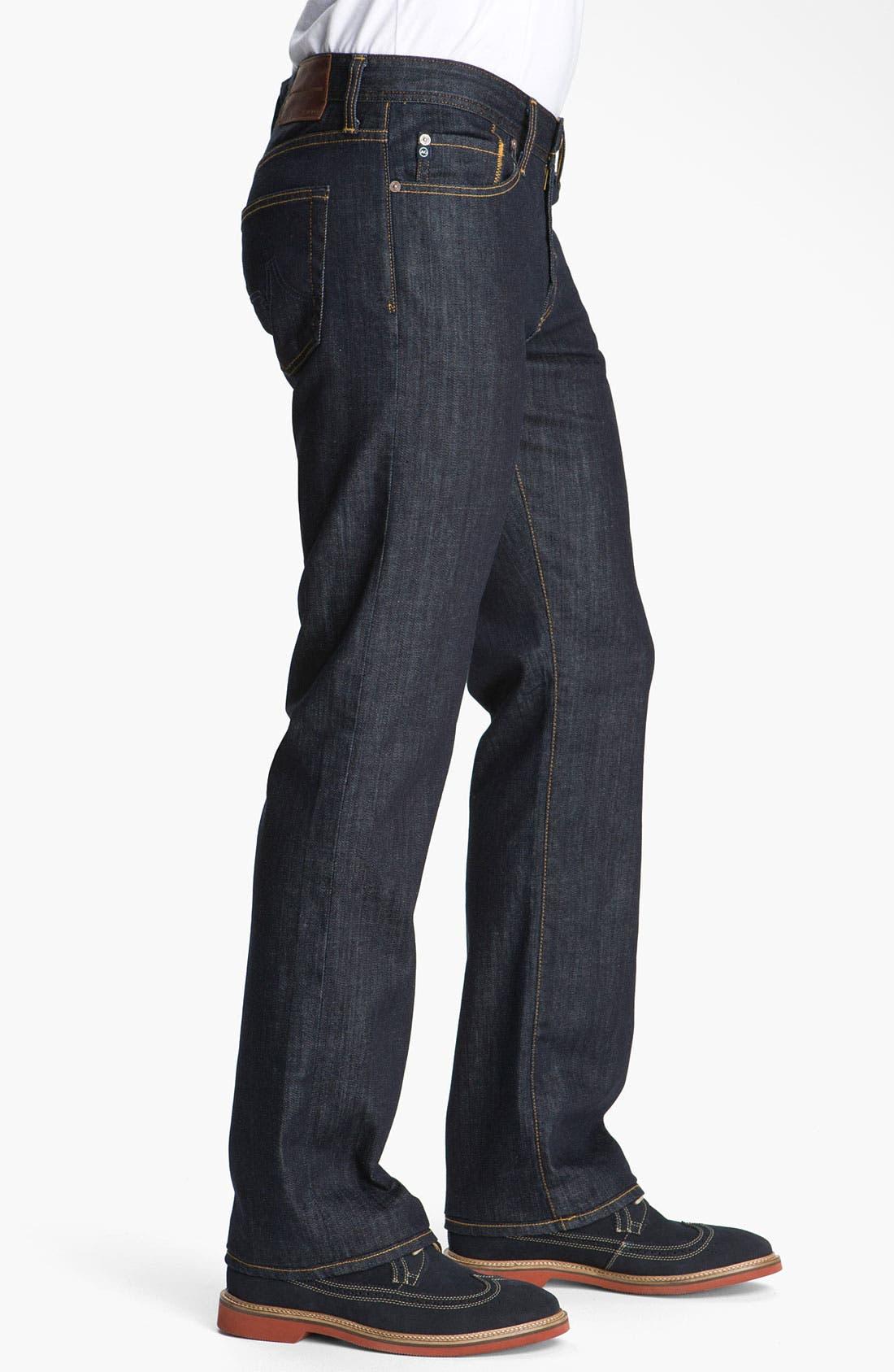 Alternate Image 2  - AG 'Protégé' Straight Leg Jeans (Kent)