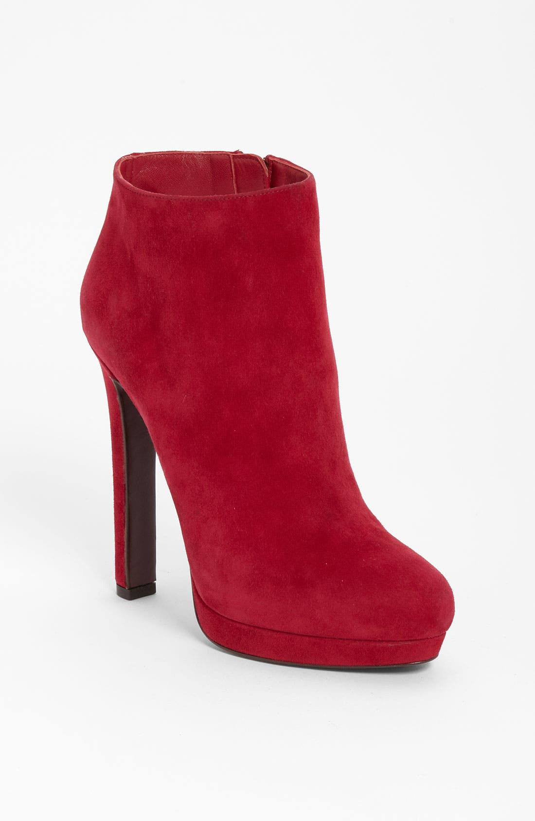 Alternate Image 1 Selected - Alexander McQueen Suede Bootie