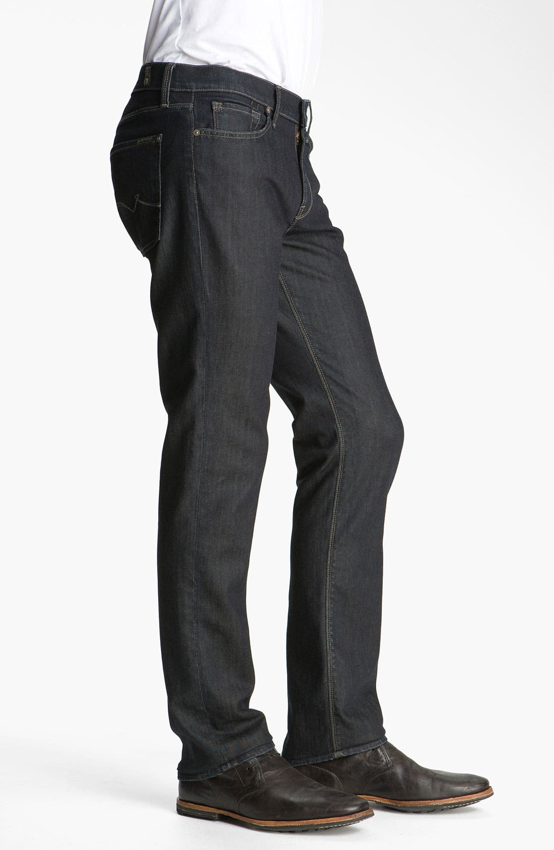 Alternate Image 3  - 7 For All Mankind® 'Slimmy' Slim Fit Jeans (Chester Row)