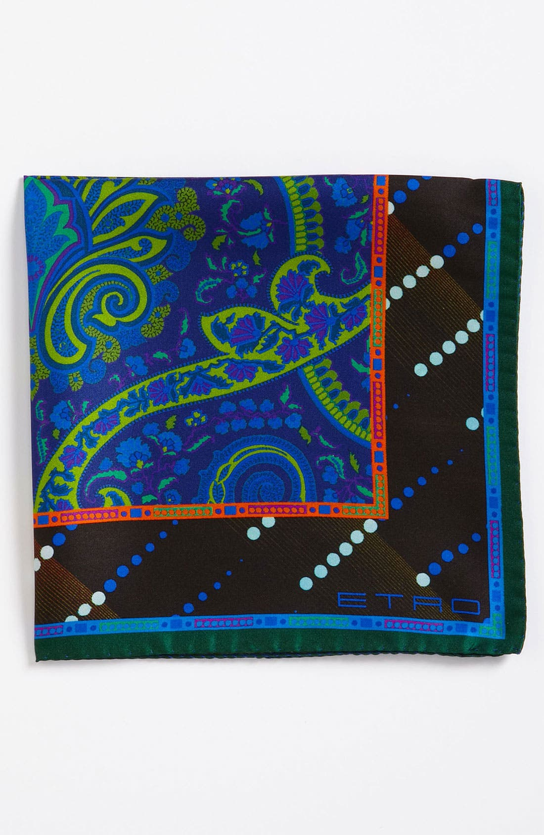 Alternate Image 1 Selected - Etro Silk Pocket Square