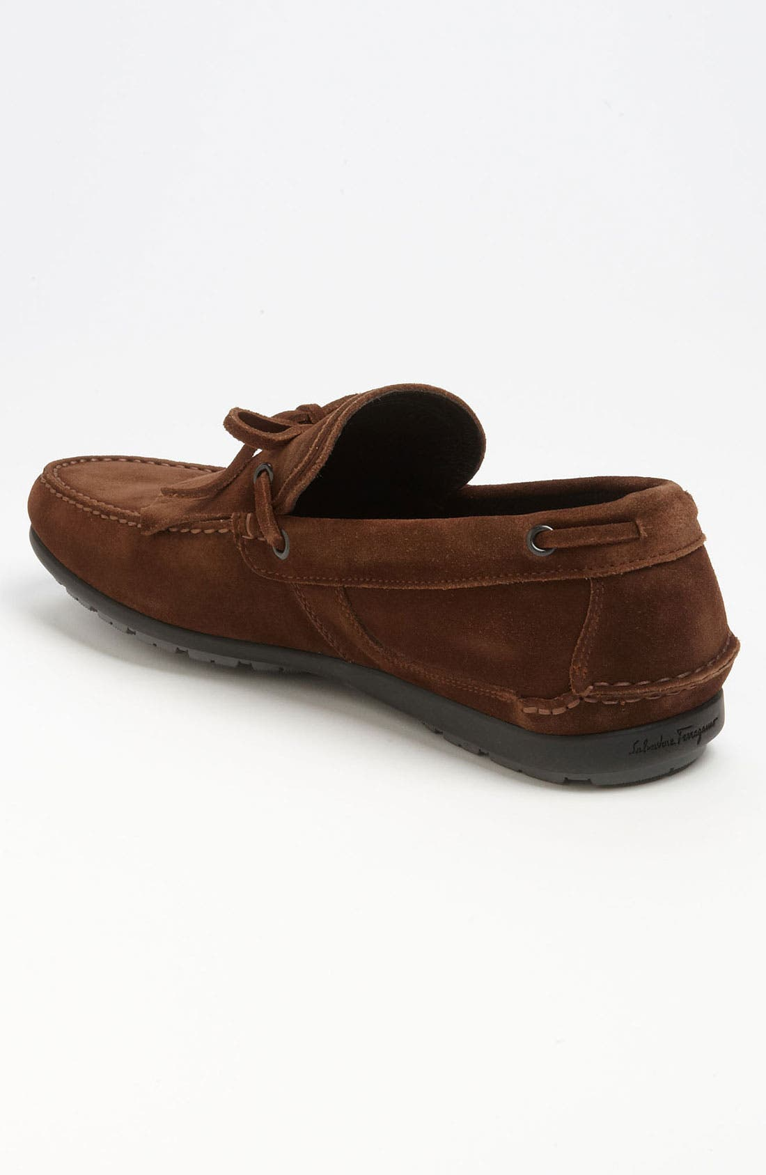 Alternate Image 2  - Salvatore Ferragamo 'Albero' Kiltie Driving Shoe